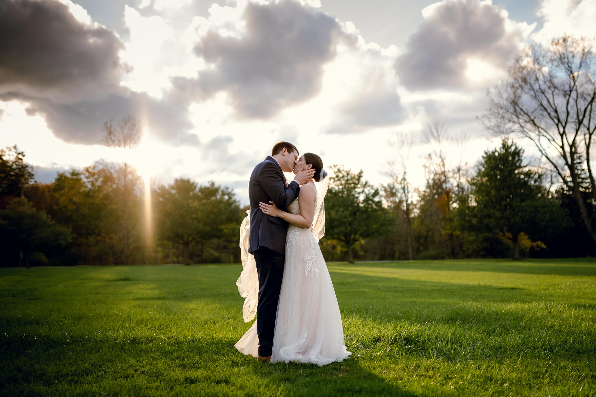 Klocs Grove West Seneca NY Wedding Photograph by Becca Sutherland Wedding Photographer
