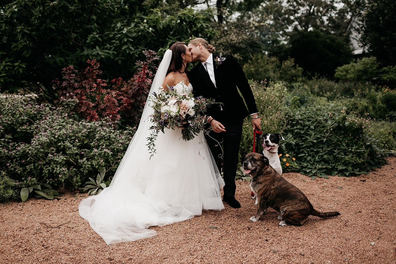 Modern Austin Wedding Couple