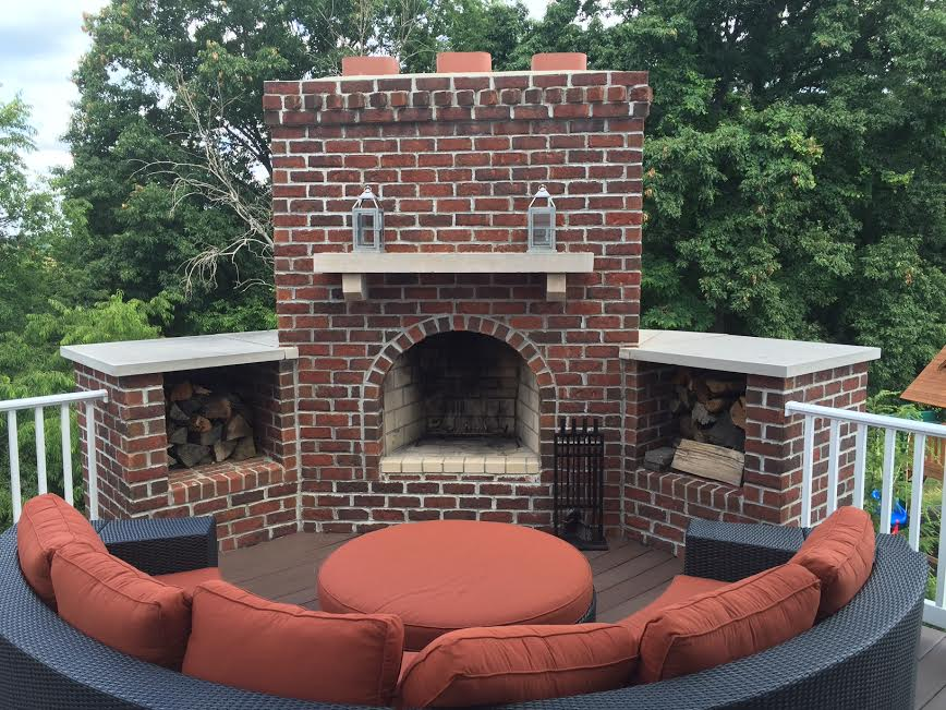 Second Story Fire place