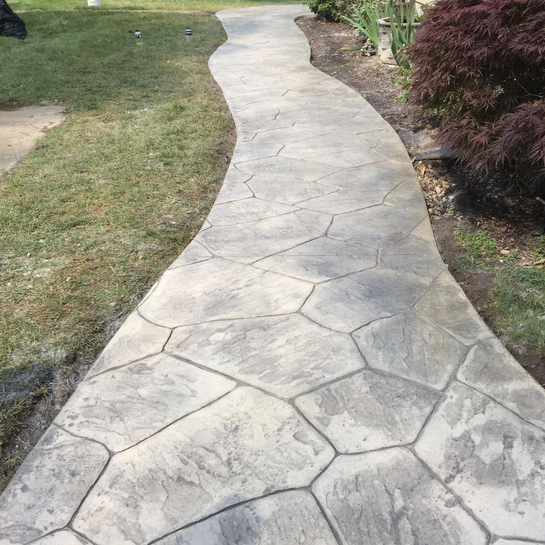 Verona stone Stone gray hardener shadow slate release /Brickform cure and seal