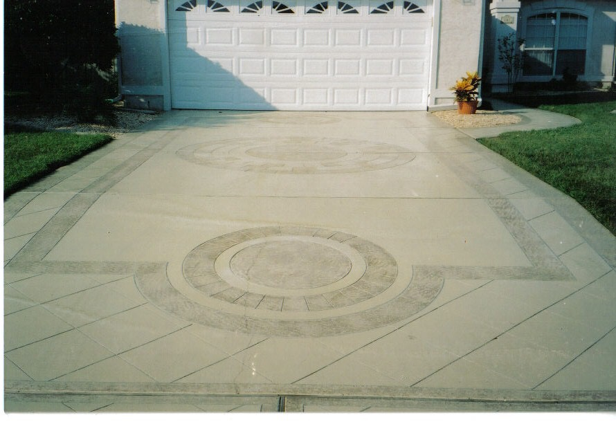 Favorite driveway this was done with engraving by ingrave-a-crete