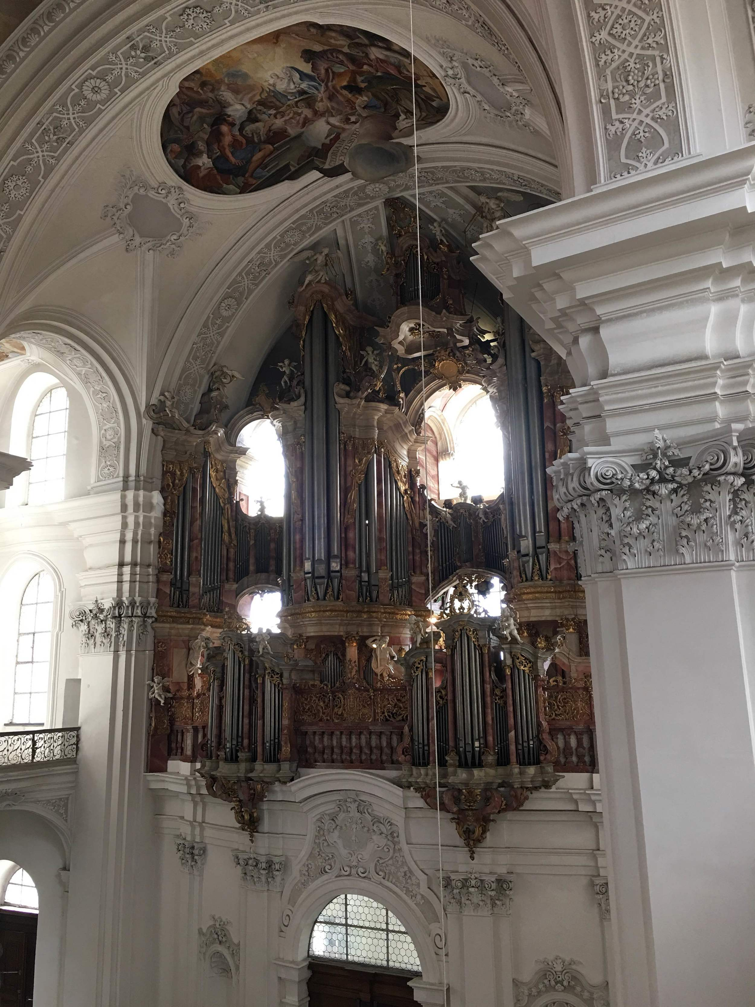 The Gabler organ in Weingarten