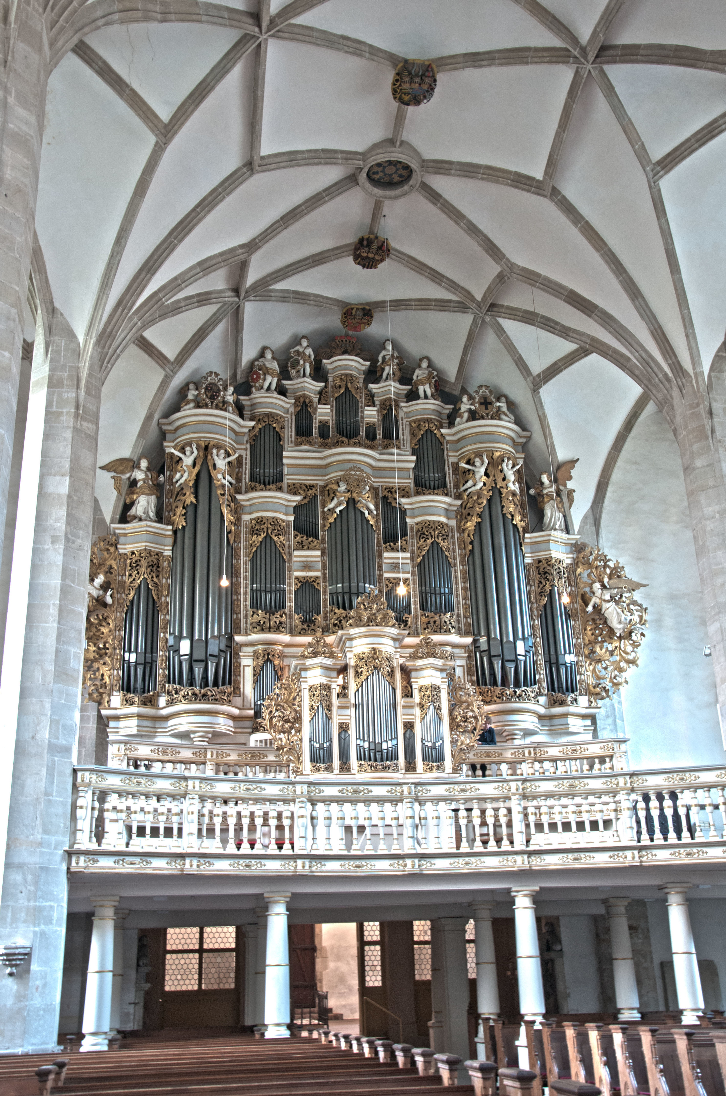 Liszt's mammoth Ladegast Organ in the Merseburg Dom