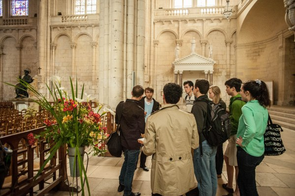 Meeting Olivier Houette, organist at Poitiers Cathedral!