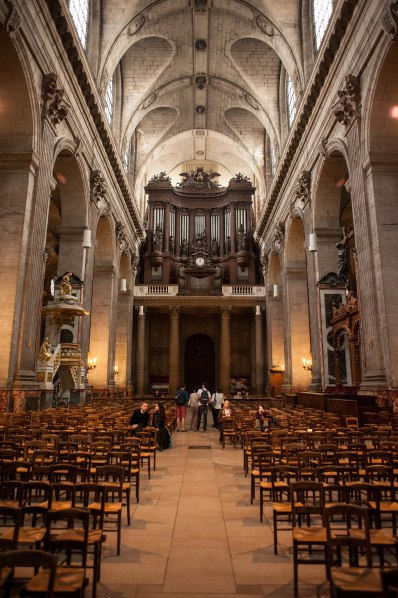 The famous Cavaillé-Coll organ of Saint Sulpice.
