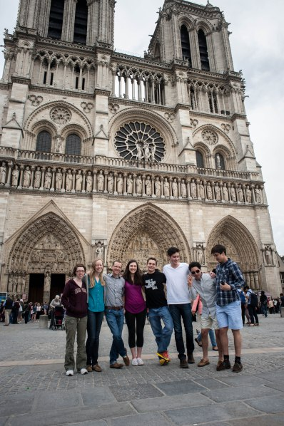 …taking us past Notre Dame Cathedral…