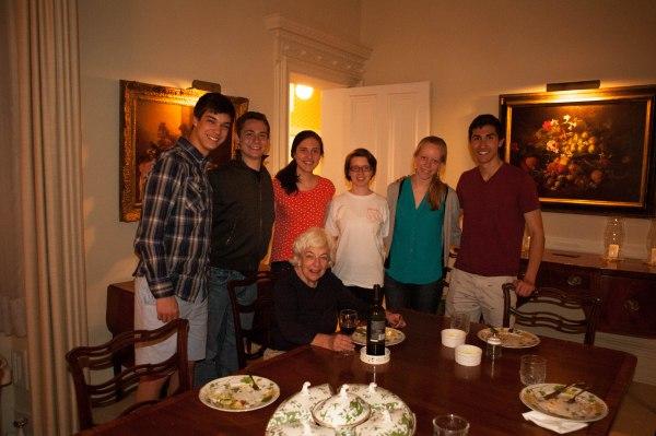 Harvard Organ Society with Joan Ivory, our hostess!