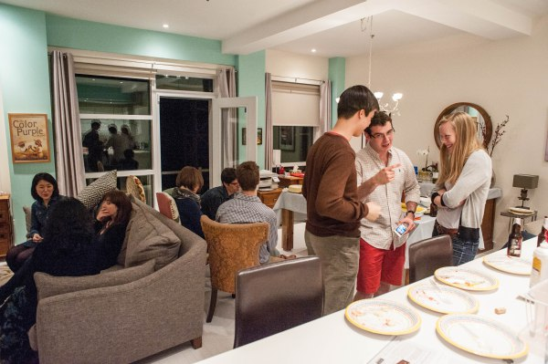 Dinner chez Thomas Leslie