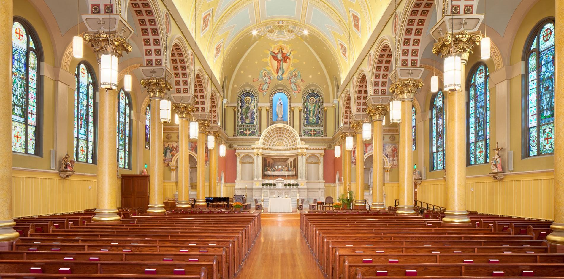 Image result for st cecilia parish boston