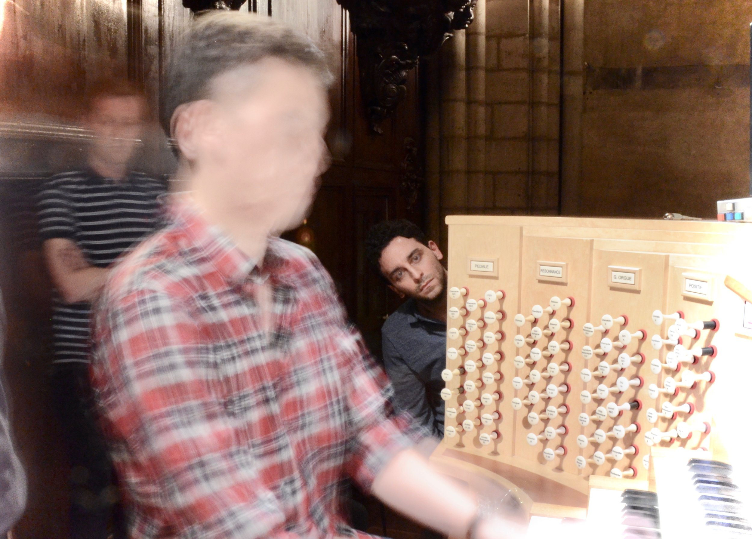 Noel playing Prelude and Fugue on ALAIN - Maurice Duruflé at Notre Dame de Paris - Boston Organ Studio