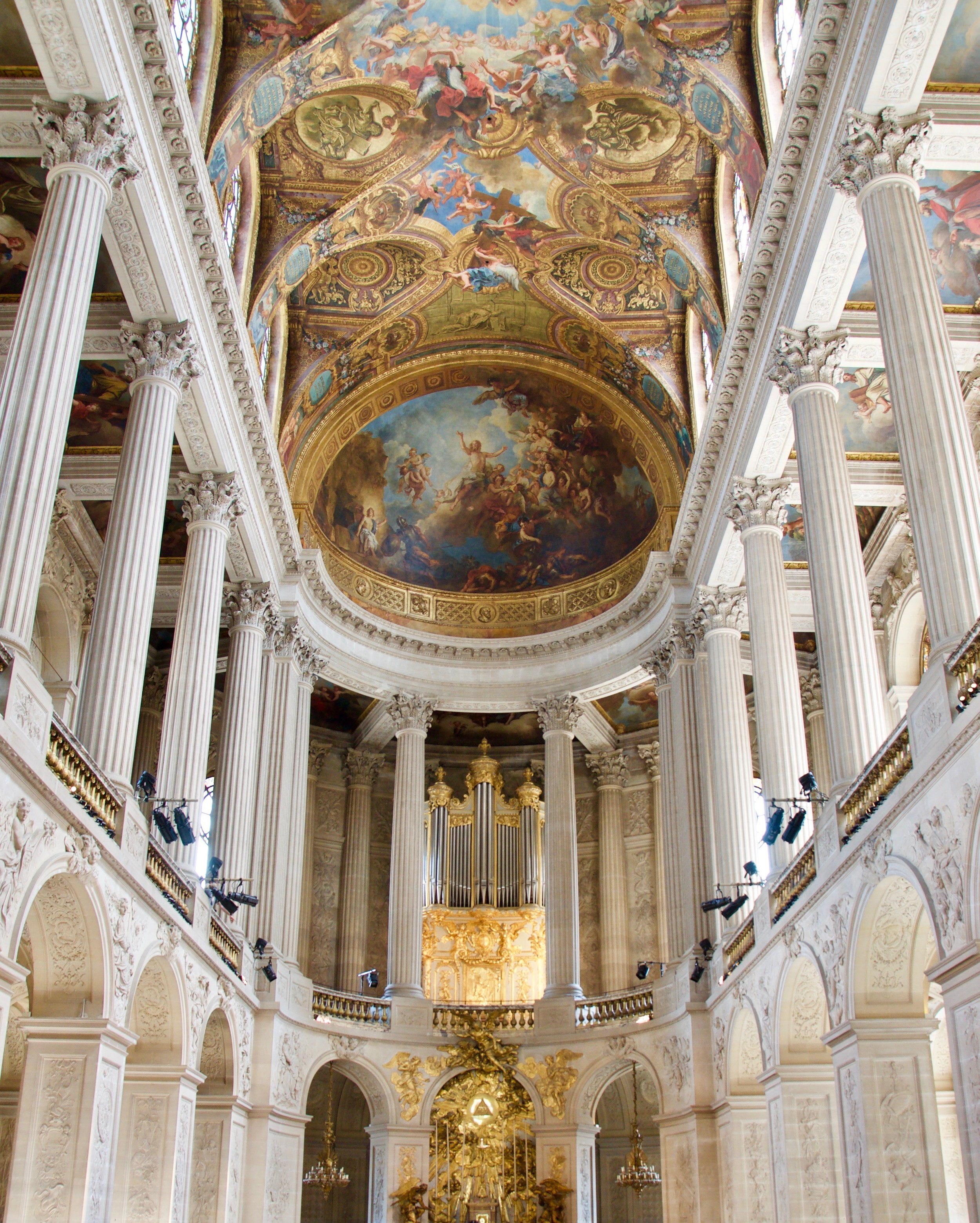 La Chapelle Royale in Versailles, France - Boston Organ Studio