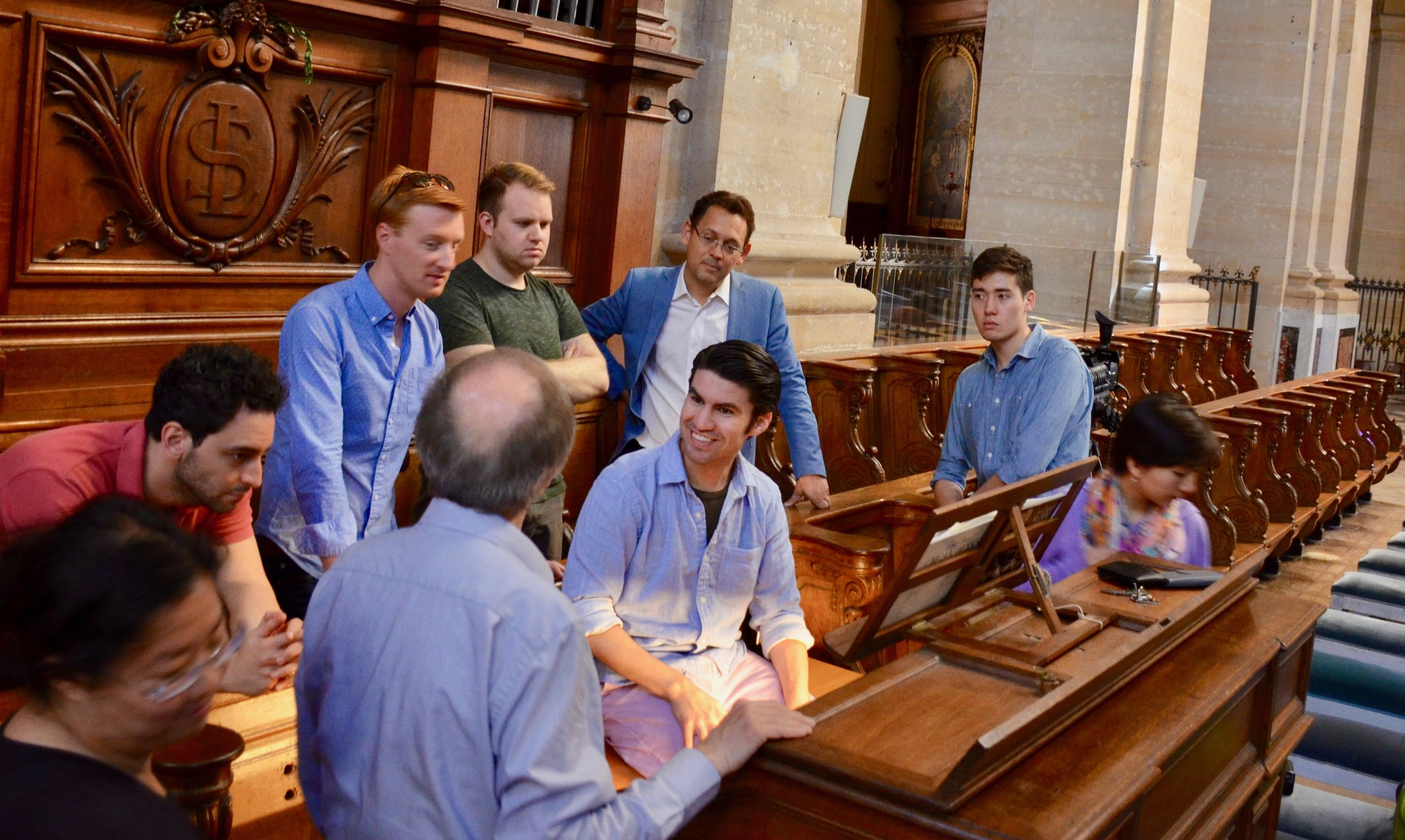 Jean-Pierre Millioud discusses the Choir Organ at Saint Louis in Versailles