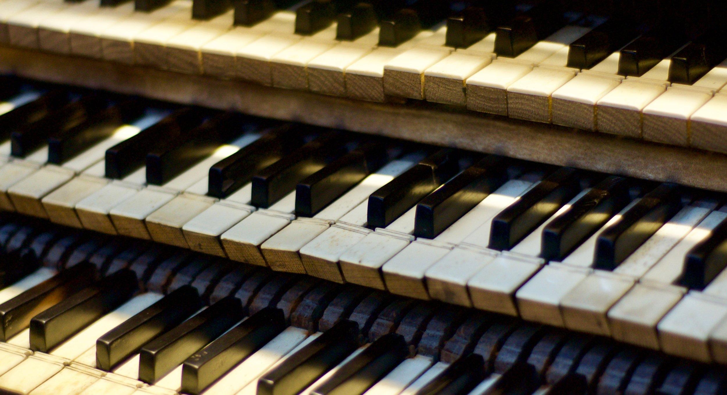 The keyboard of Rozay-en-Brie