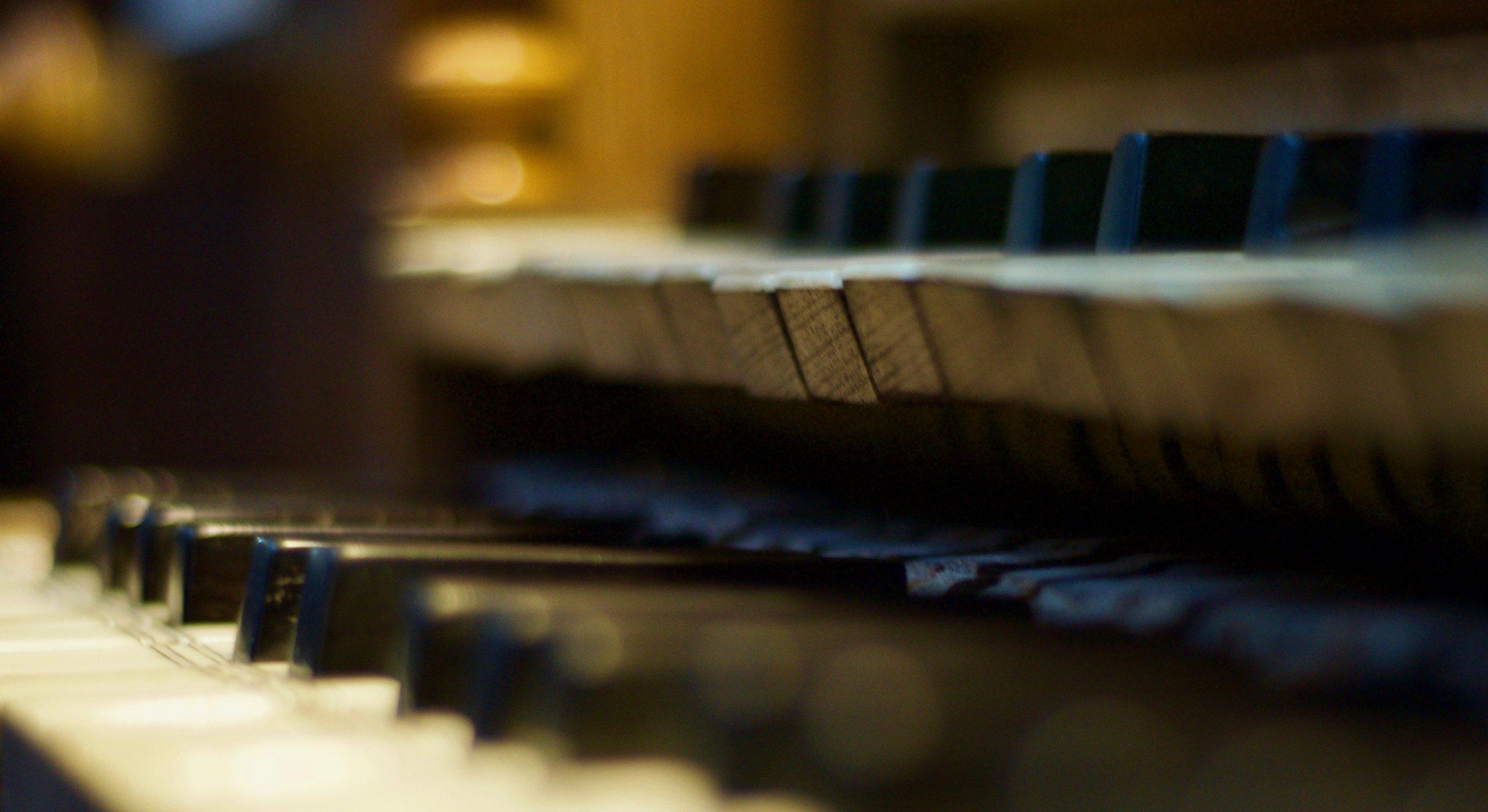 The keyboard of Rozay-en-Brie!