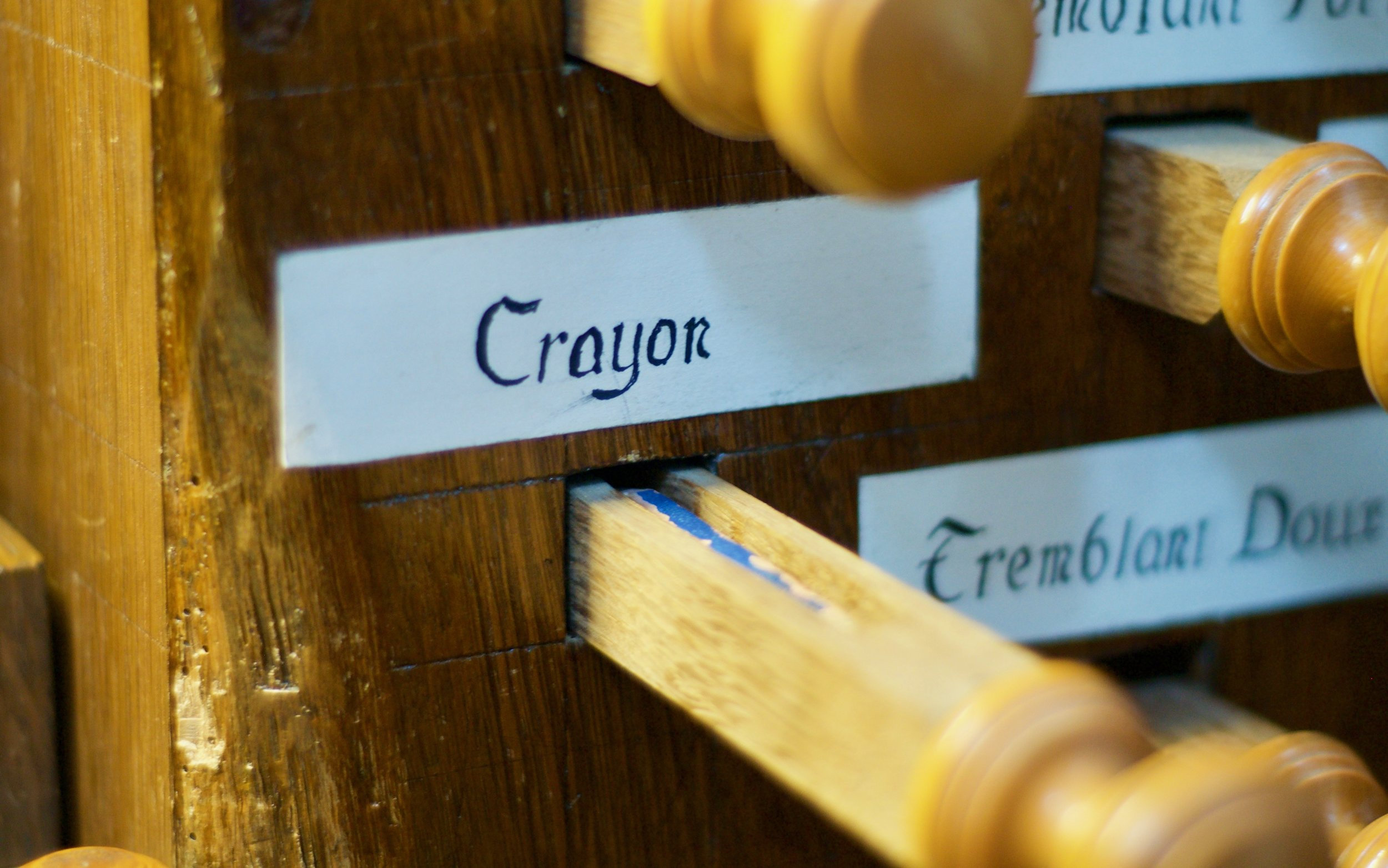 The infamous Crayon stop -- for a pencil!!