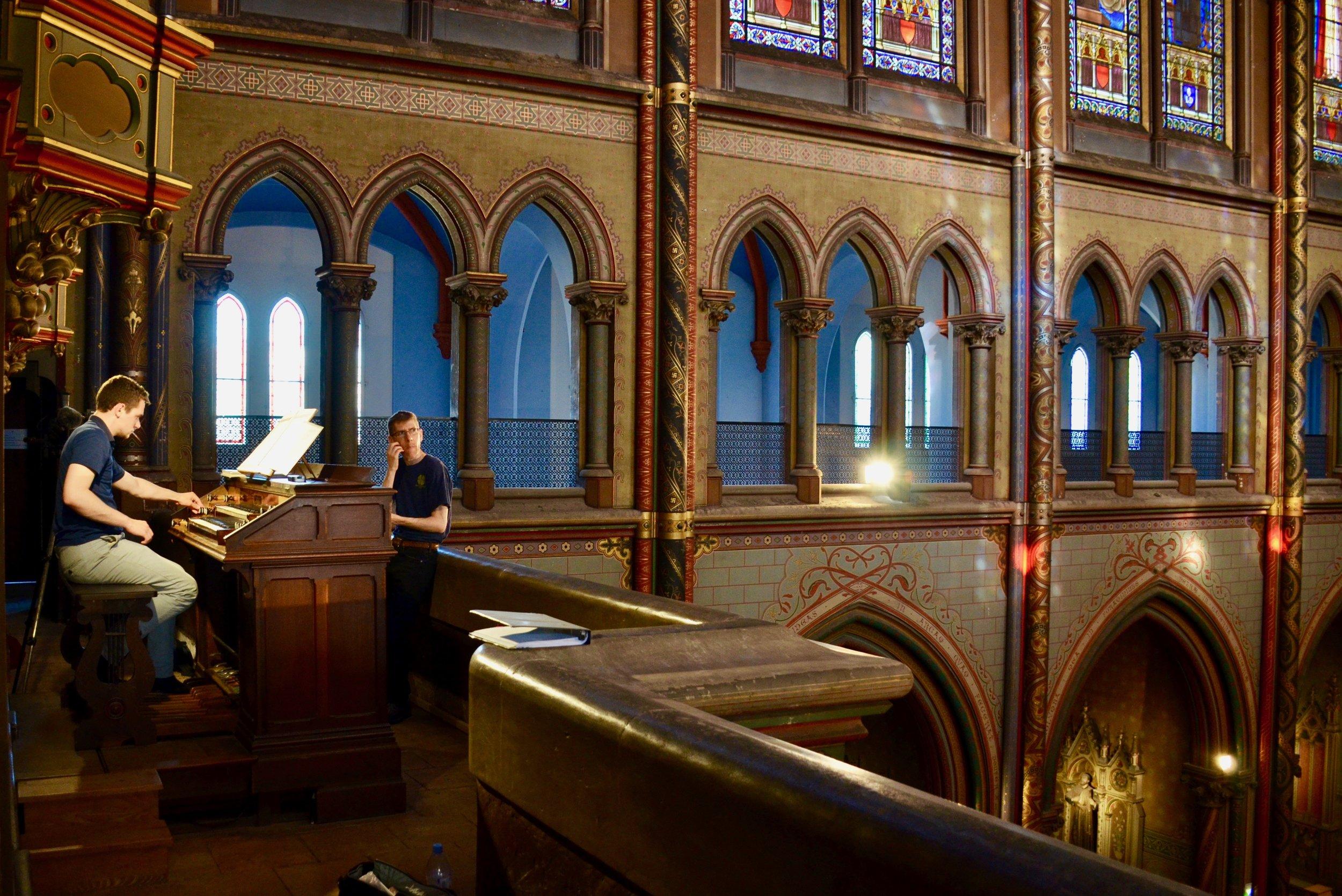 David von Behren plays the Cavaillé-Coll organ in Gésu Church, Toulouse