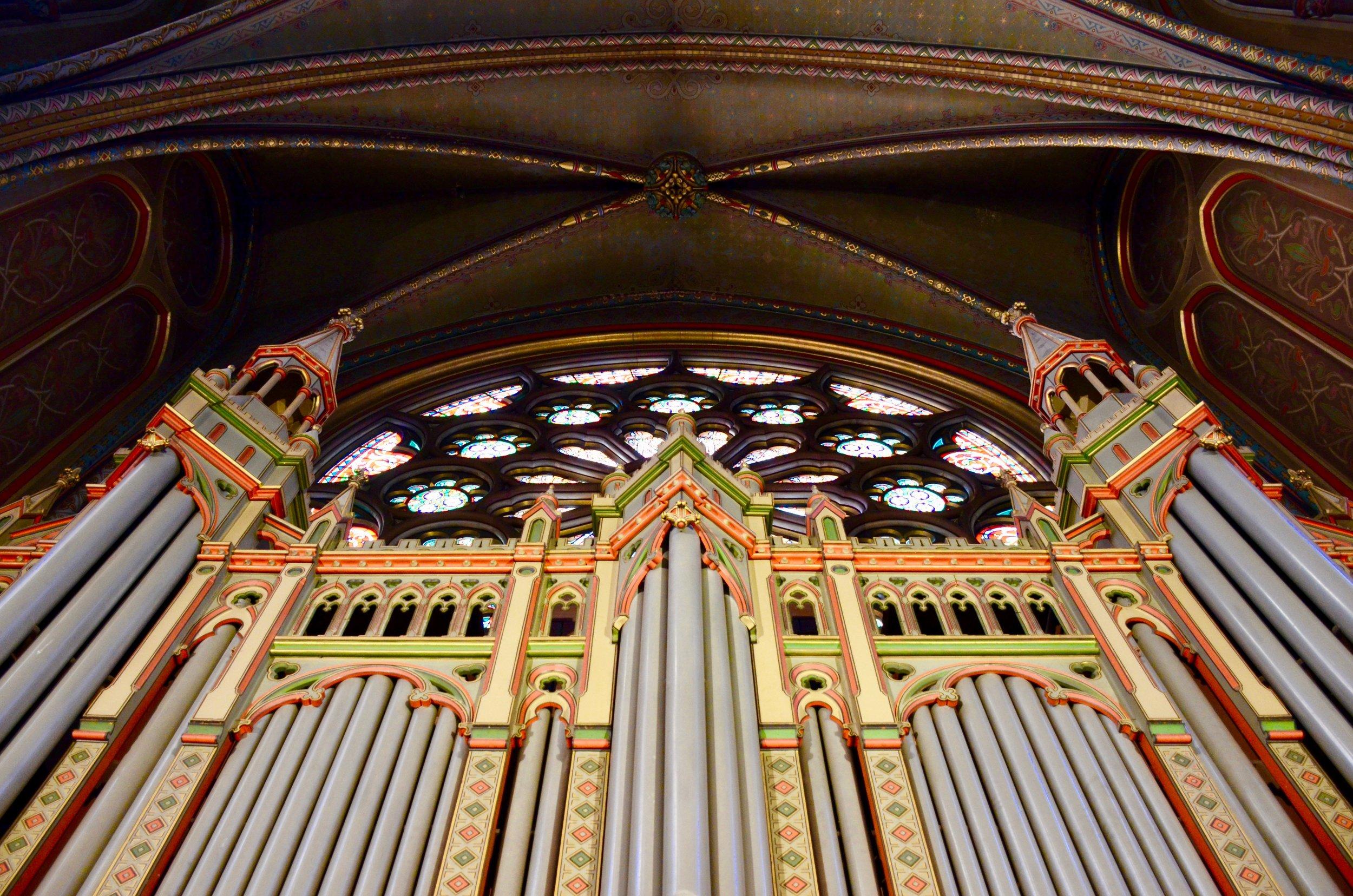 Cavaillé-Coll organ, Gésu Church Toulouse