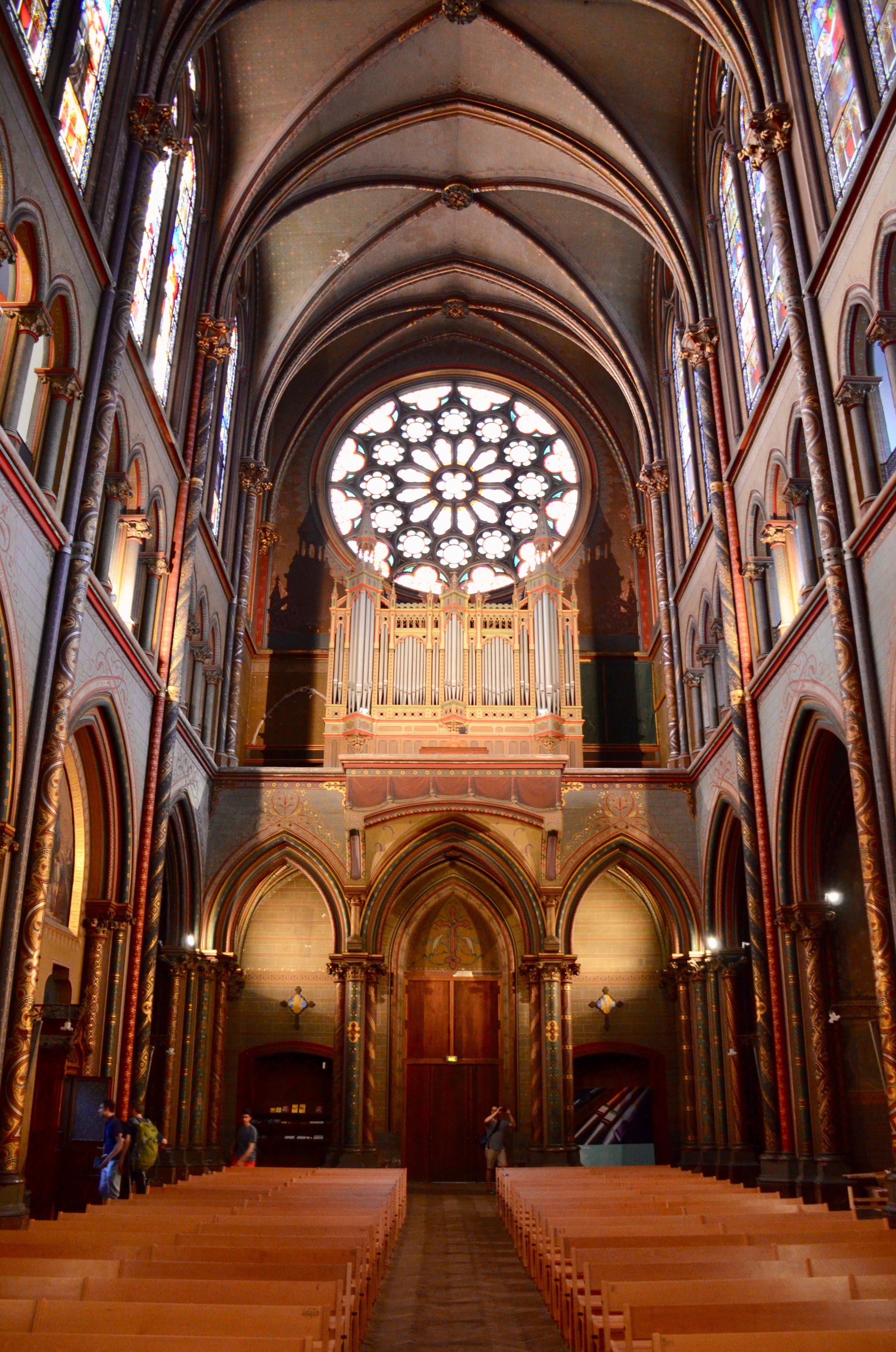 Cavaillé-Coll organ, Gésu Church, Toulouse