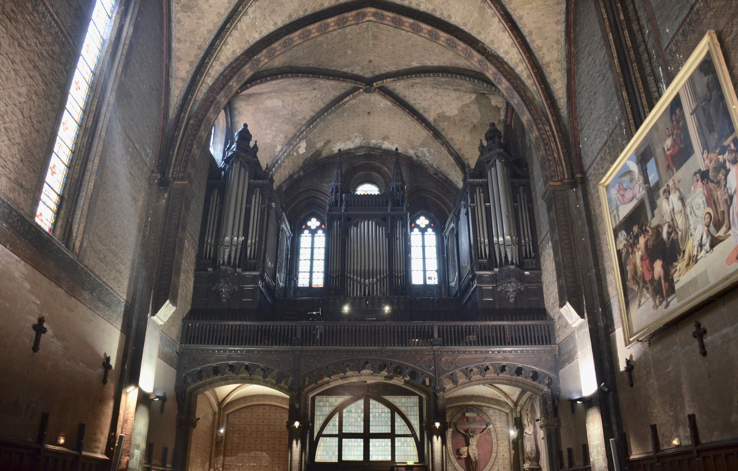 The Puget organ of Notre-Dame du Taur, Toulouse.