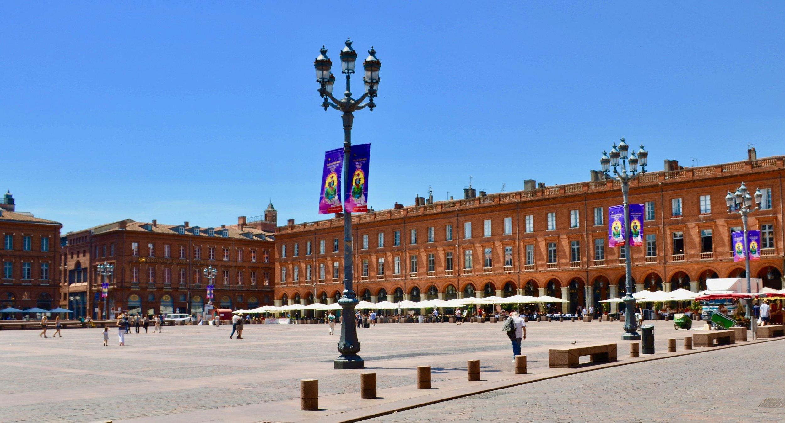 Place de la Capitole, Toulouse.