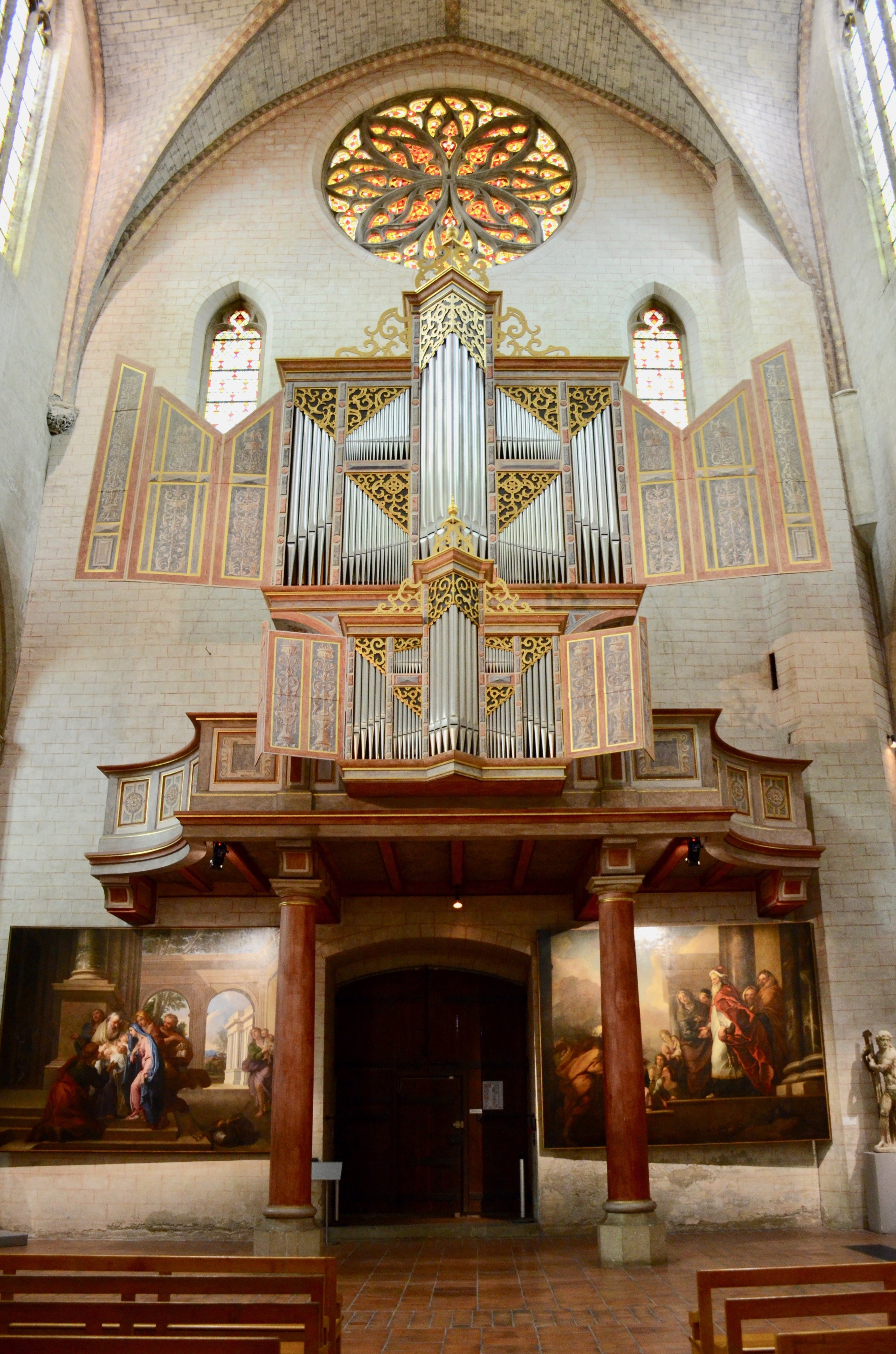 Ahrend organ, Musee des Augustins, Toulouse.