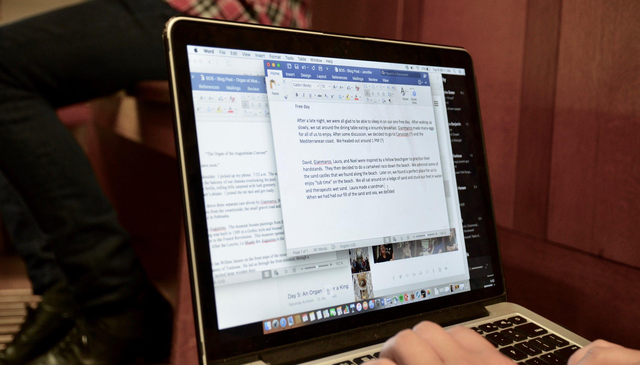 Blogging for Boston Organ Studio!