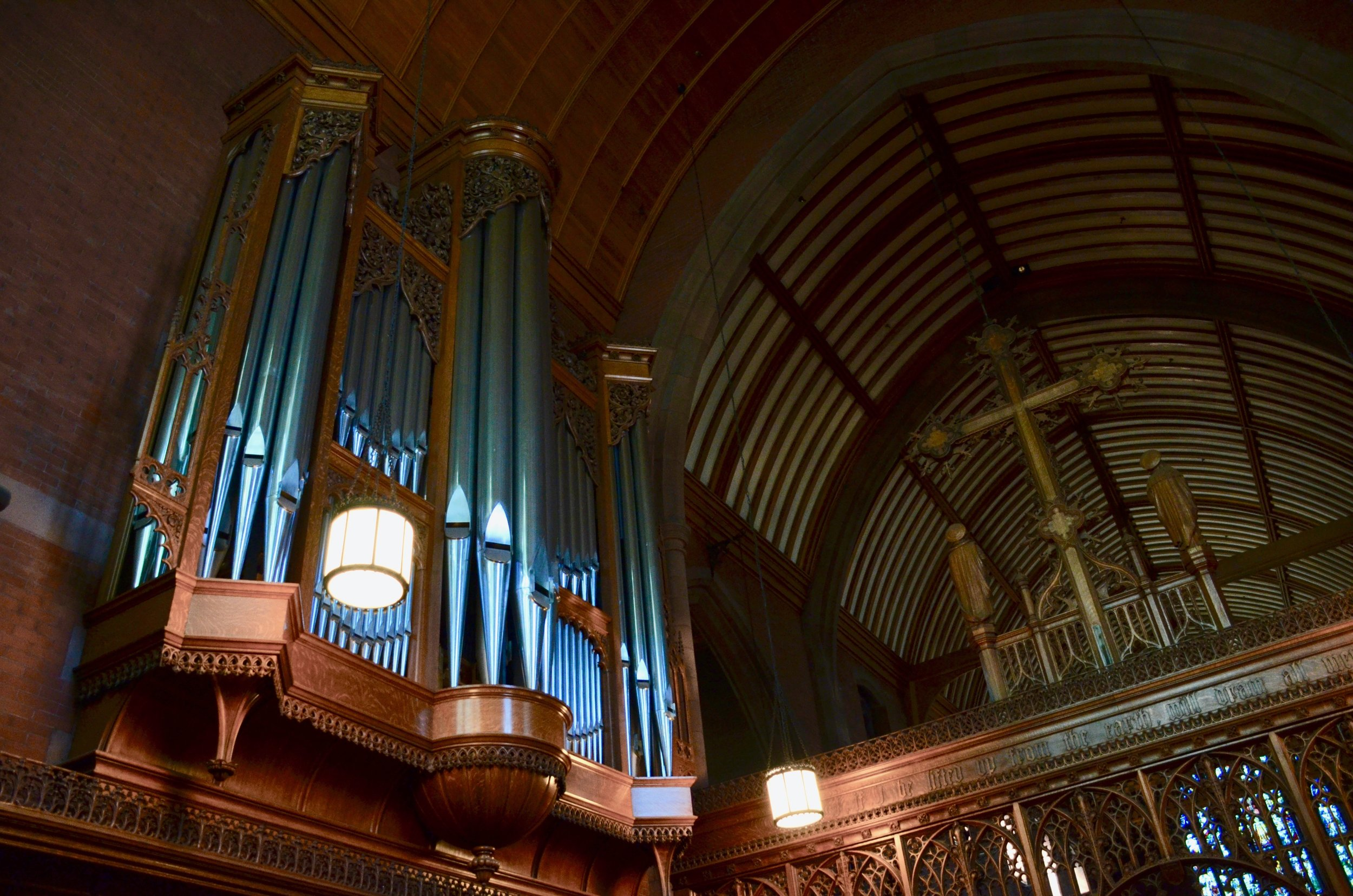 The Lively-Fulcher organ in Christ Church New Haven