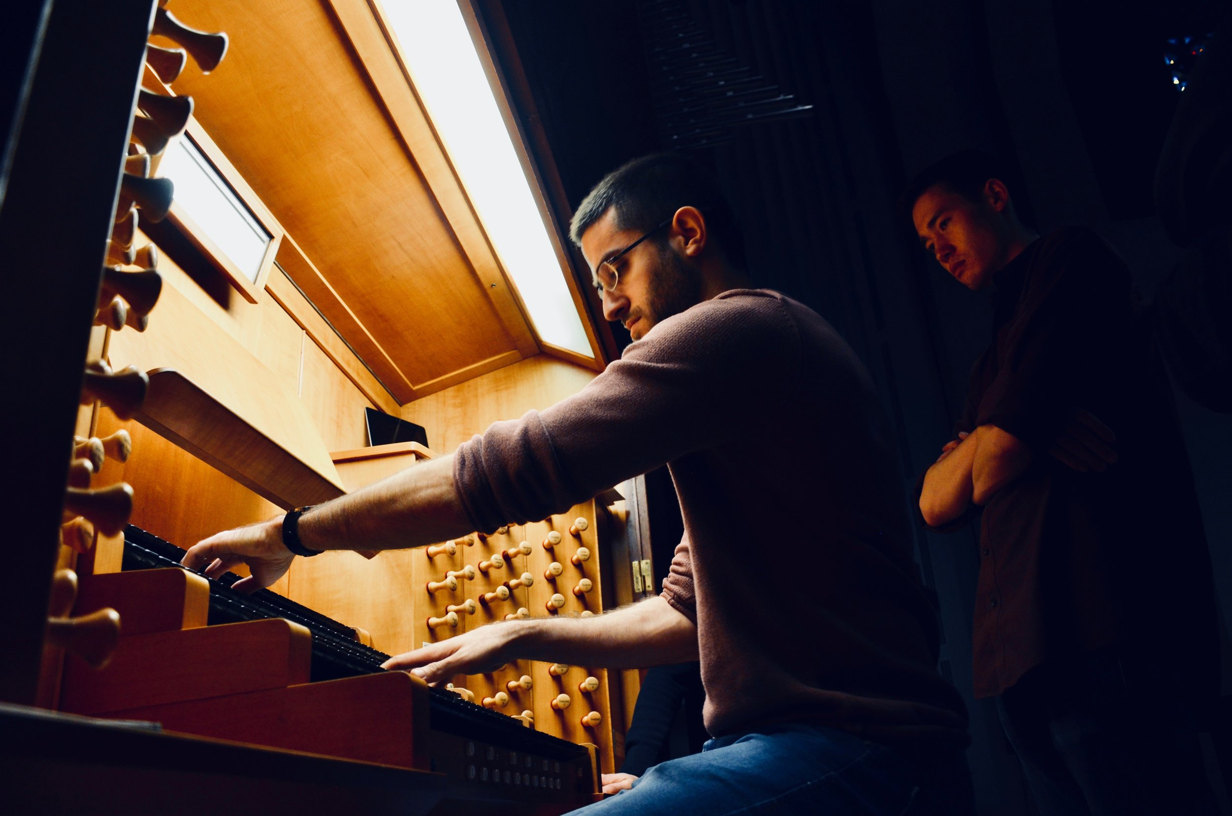 Dor Amram plays the Beckerath organ, St. Joseph Oratory, Montreal