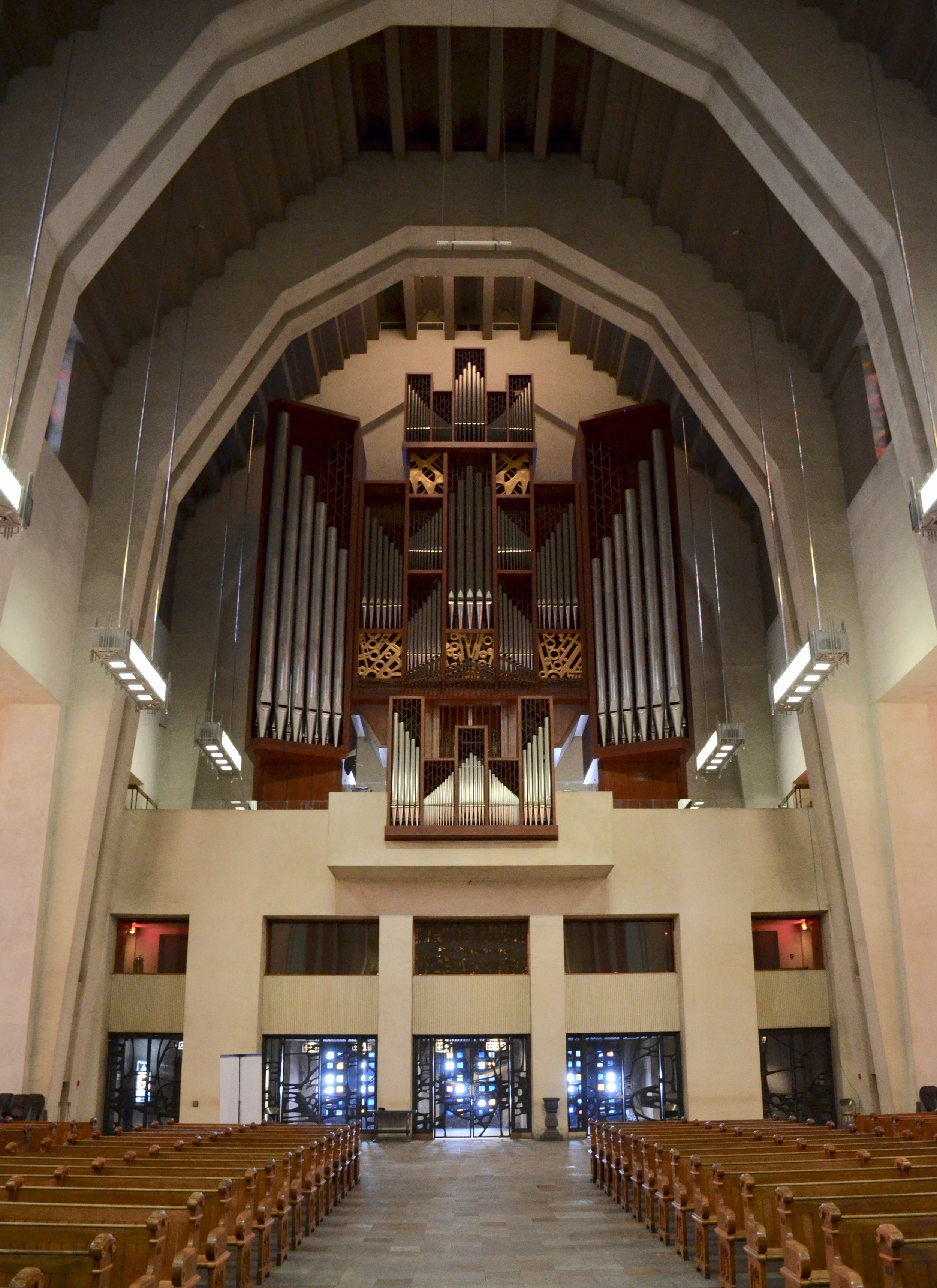 The Beckerath organ, St. Joseph Oratory, Montreal
