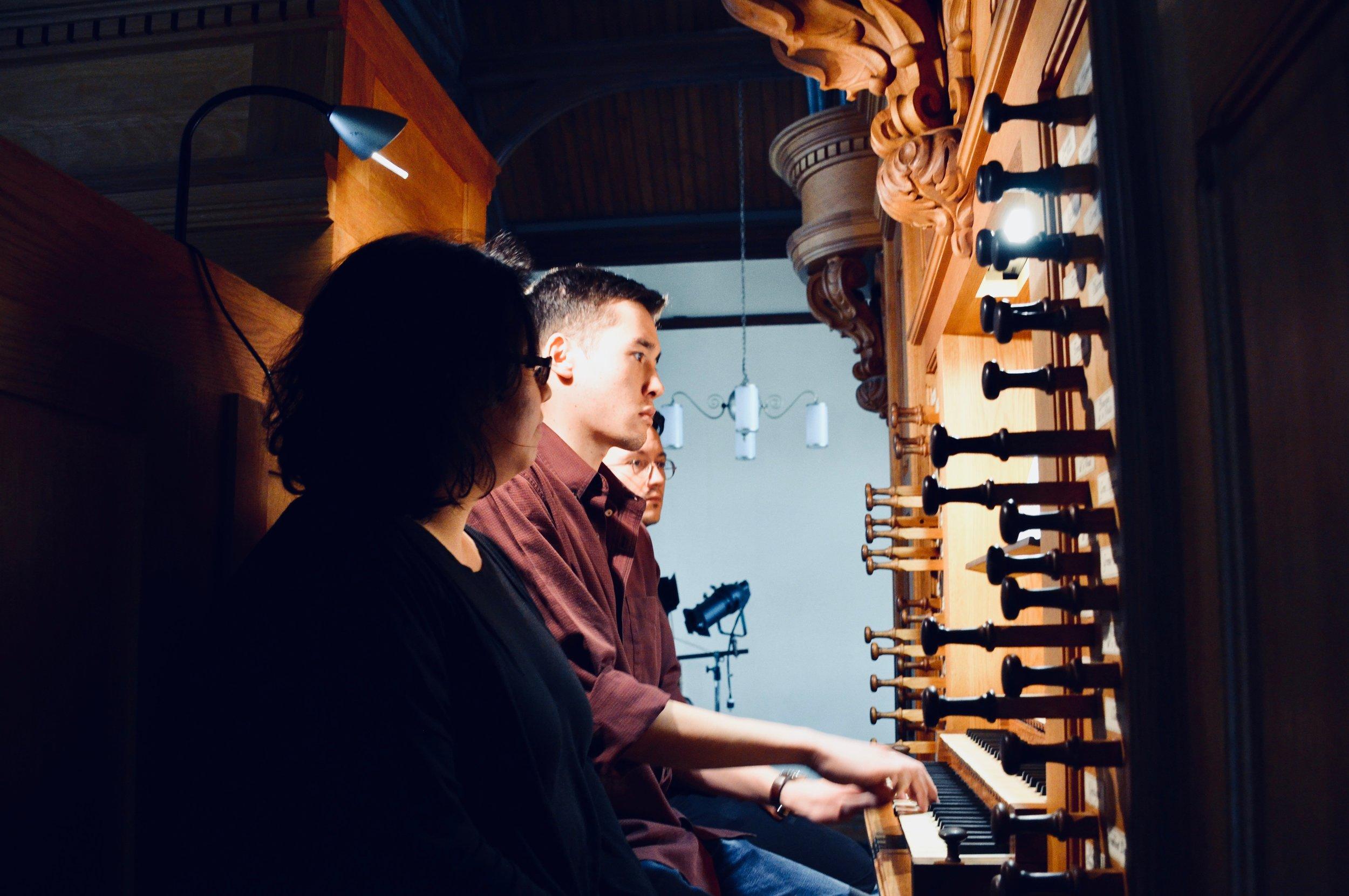 Noel de Sa e Silva plays the Wolff Organ, Redpath Hall, McGill University