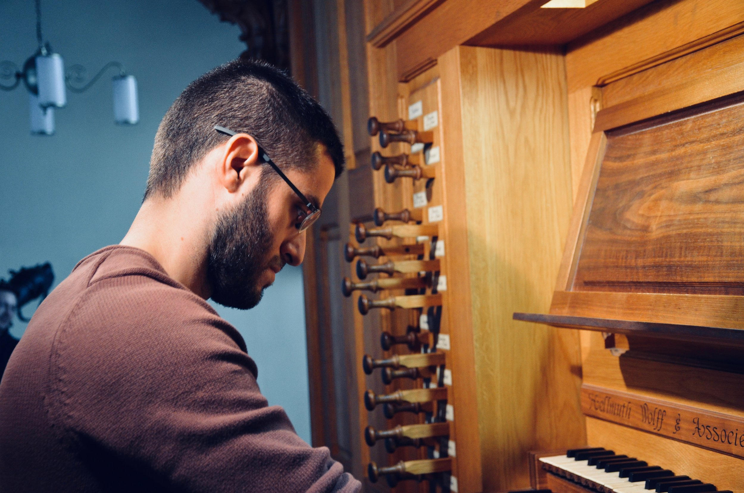 Dor Amram plays the Wolff Organ, Redpath Hall, McGill University