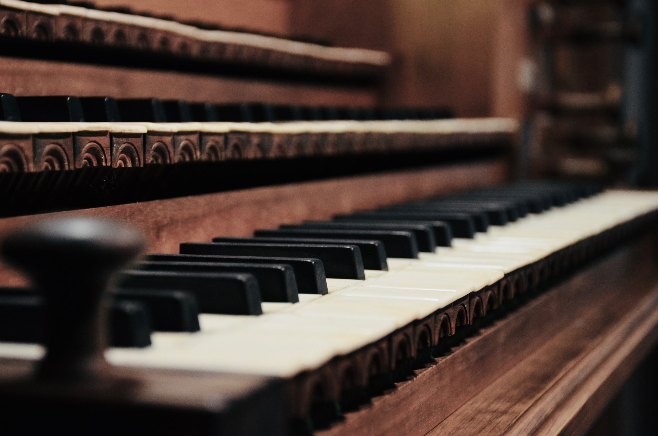 Console detail,Wolff Organ, Redpath Hall, McGill University