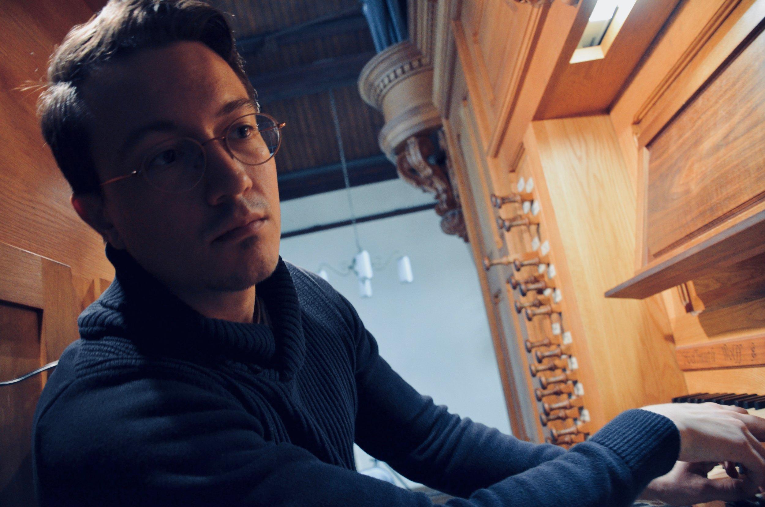 Corey de Tar plays the Wolff Organ, Redpath Hall, McGill University