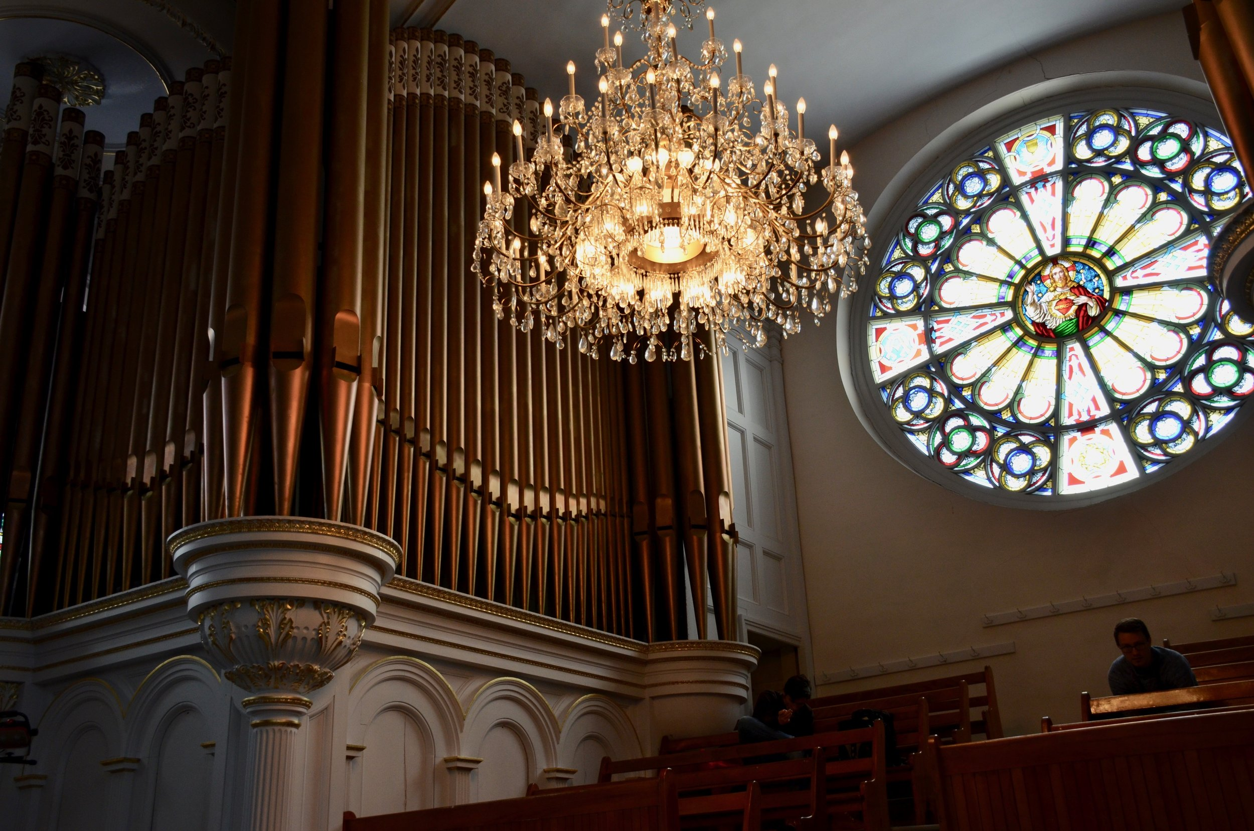 Casavant organ,Cathedral of St.Hyacinthe, Quebec