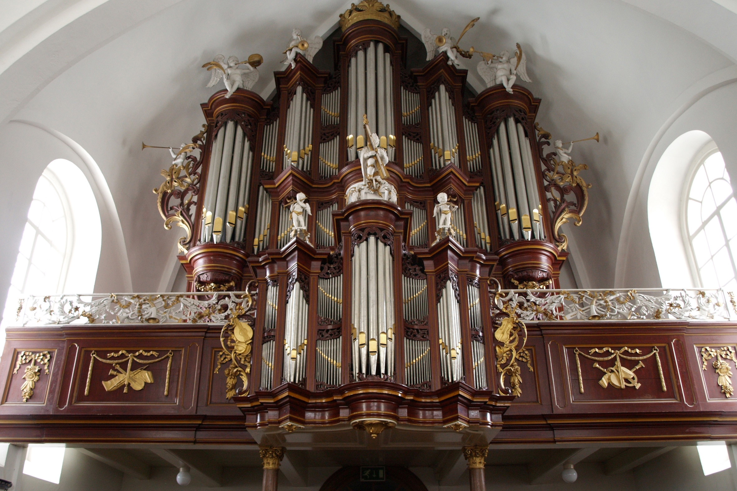 1733 HINSZ ORGAN, LEENS, HOLLAND
