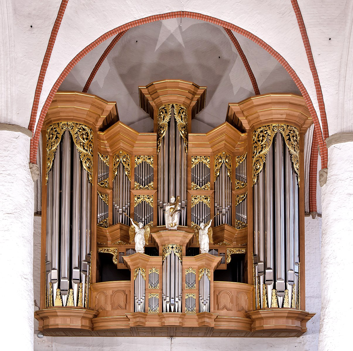 1693 SCHNITGER ORGAN, ST. JACOBI, HAMBURG, GERMANY