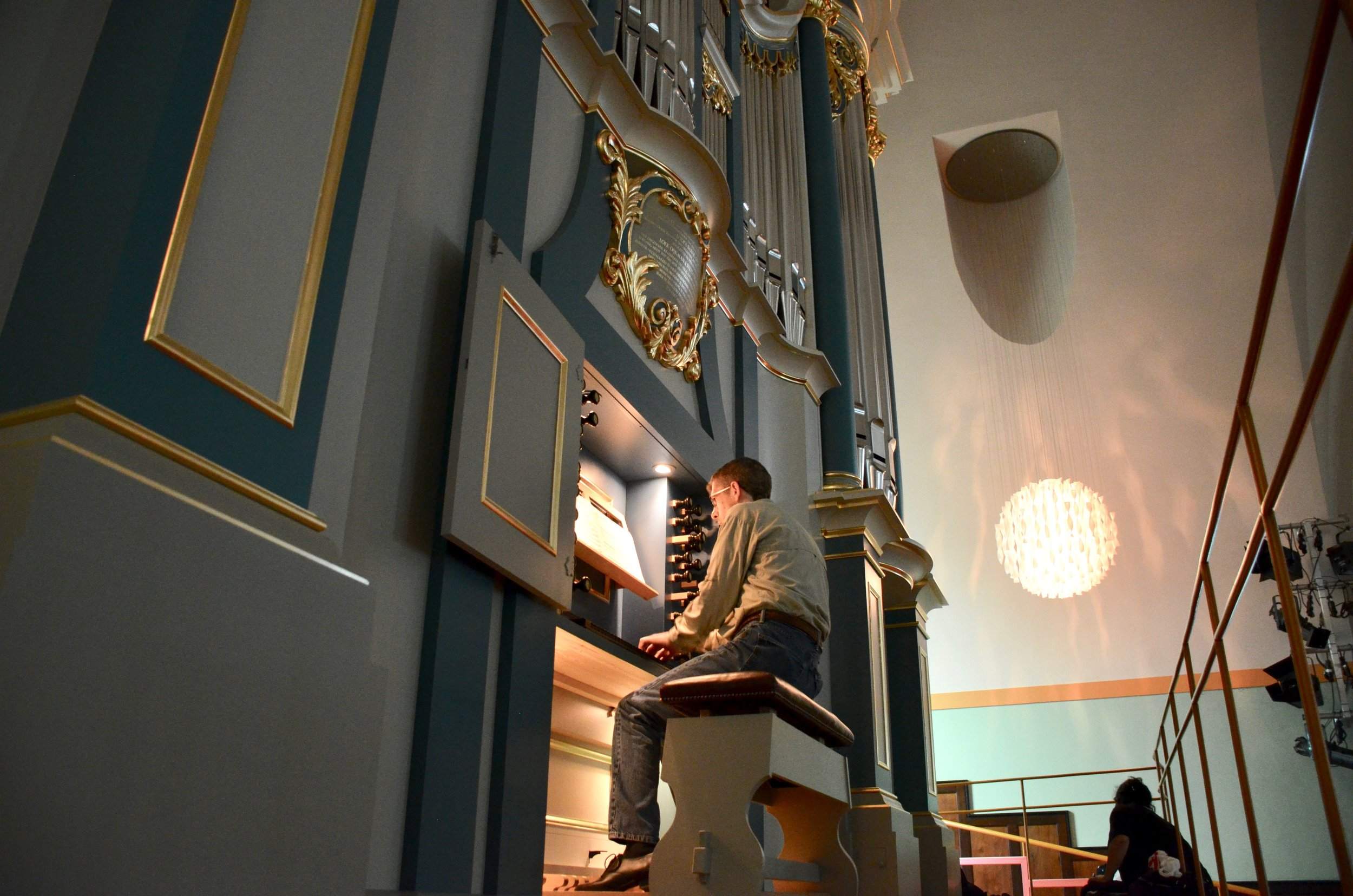 Chris Porter plays the new Baroque organ in Orgelpark, Amsterdam.