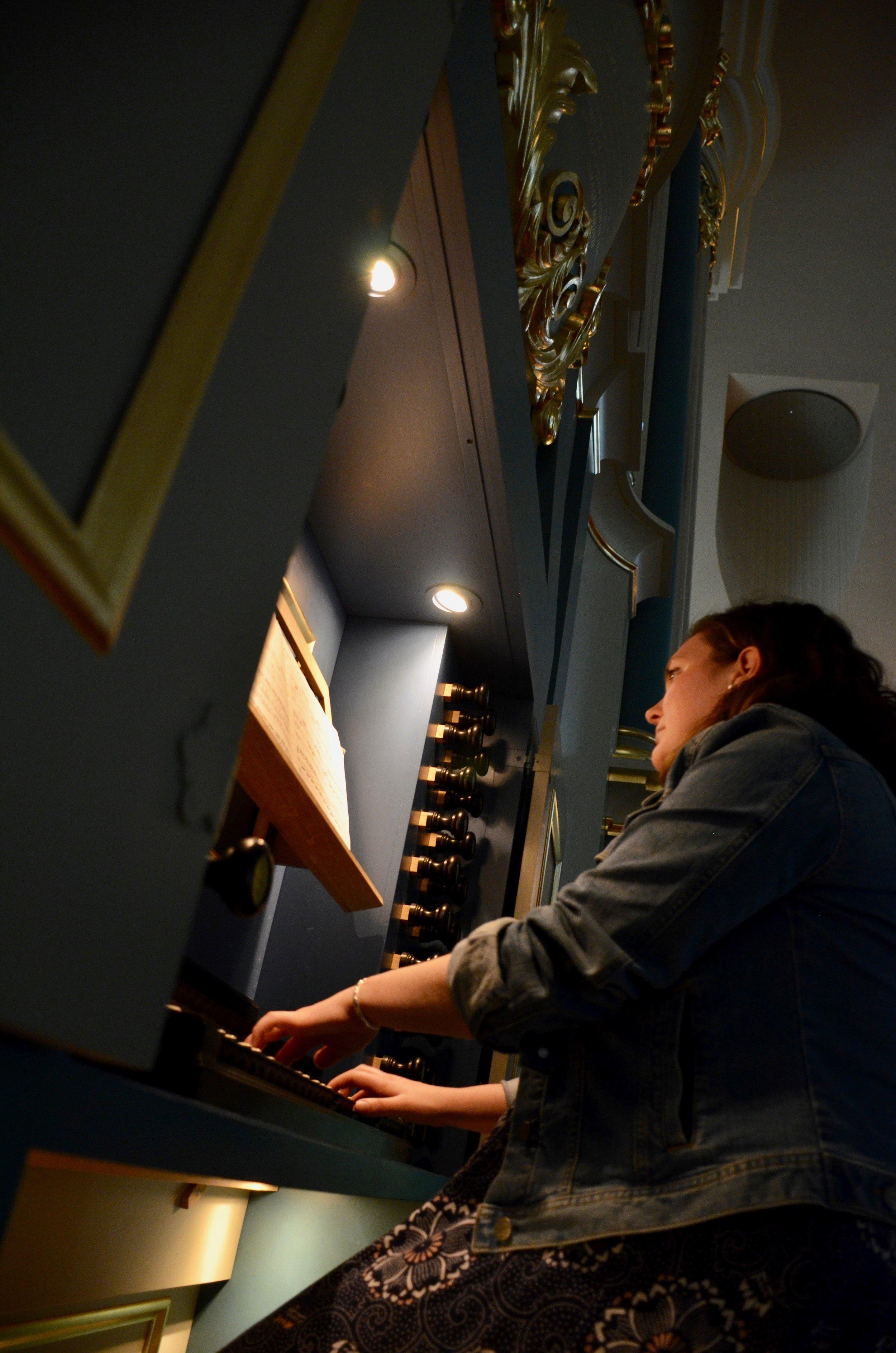 Chelsea Keating plays the Baroque Organ in Orgelpark, Amsterdam.