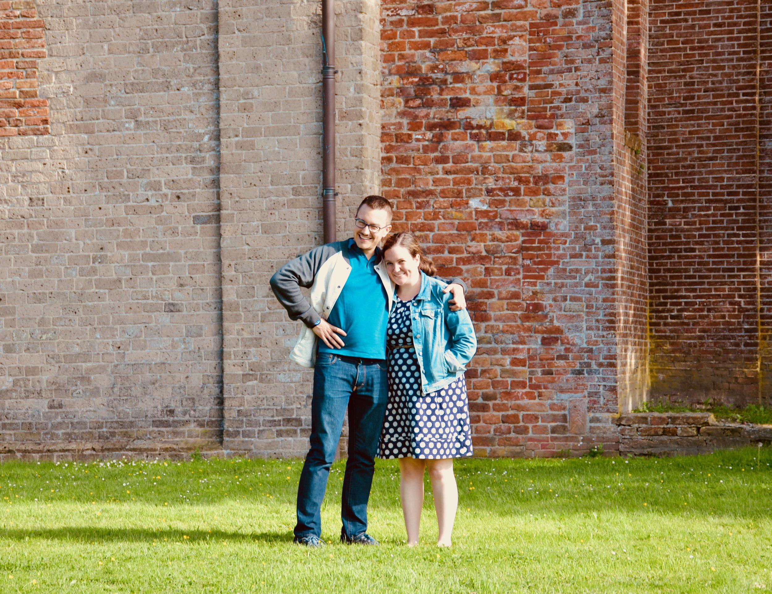 Corey De Tar and Chelsea Keating in Leens, Holland.