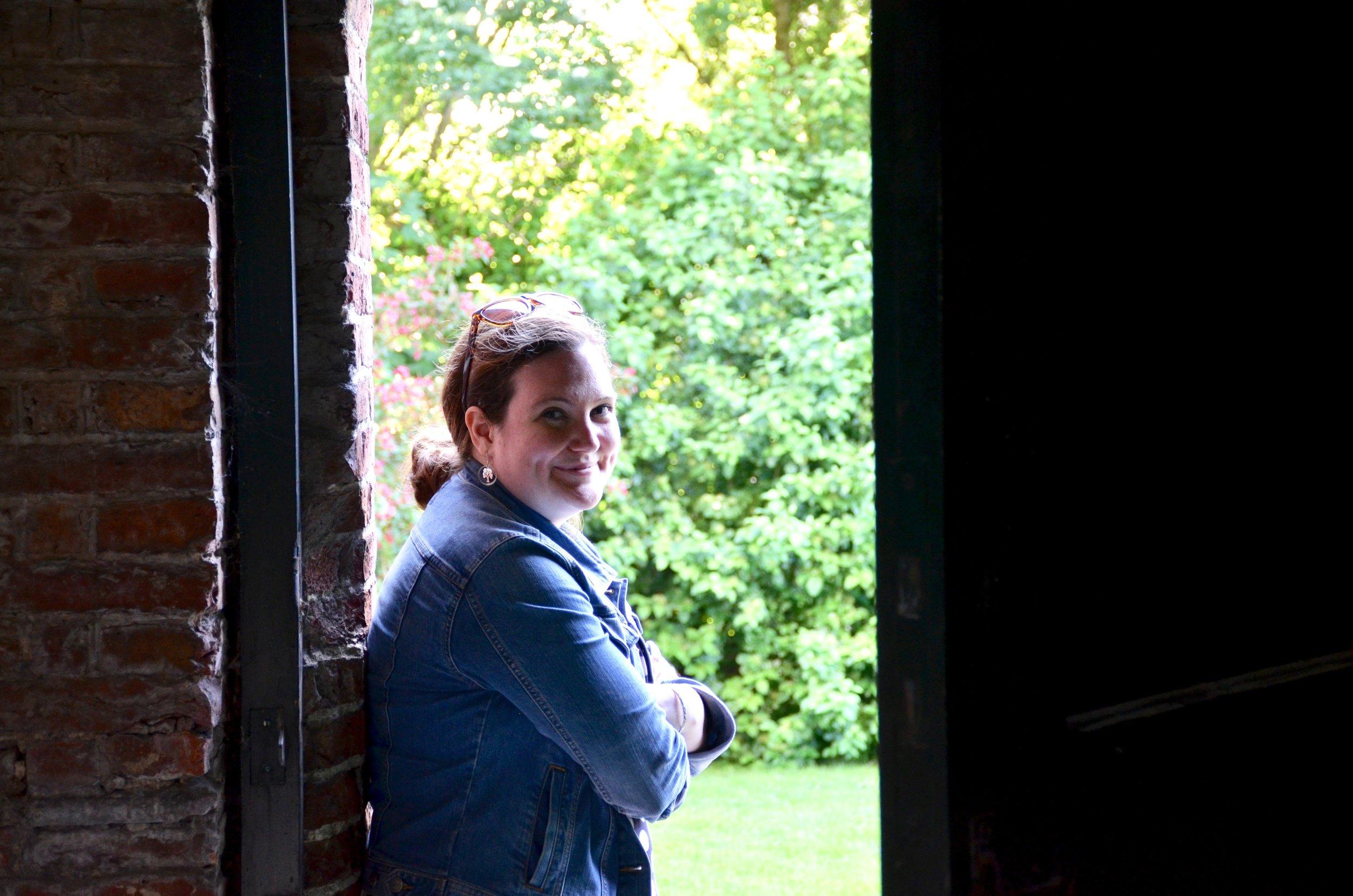 Chelsea Keating at Michaëlkerk, Mensingeweer, Holland.