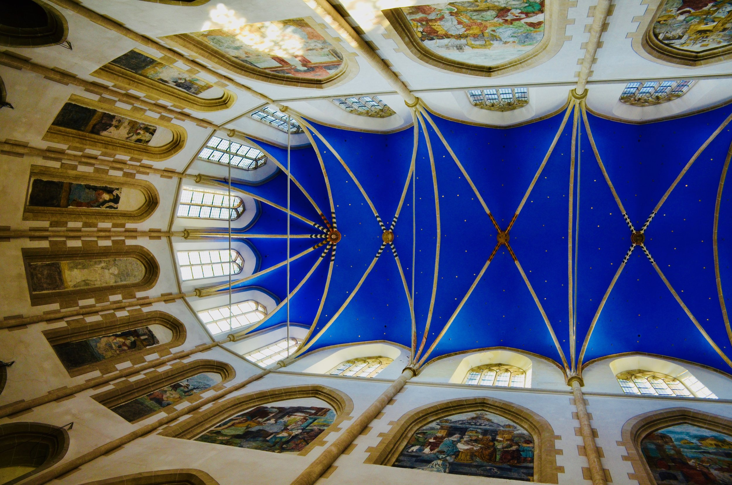 The Choir vault, Martinikerk, Groningen.