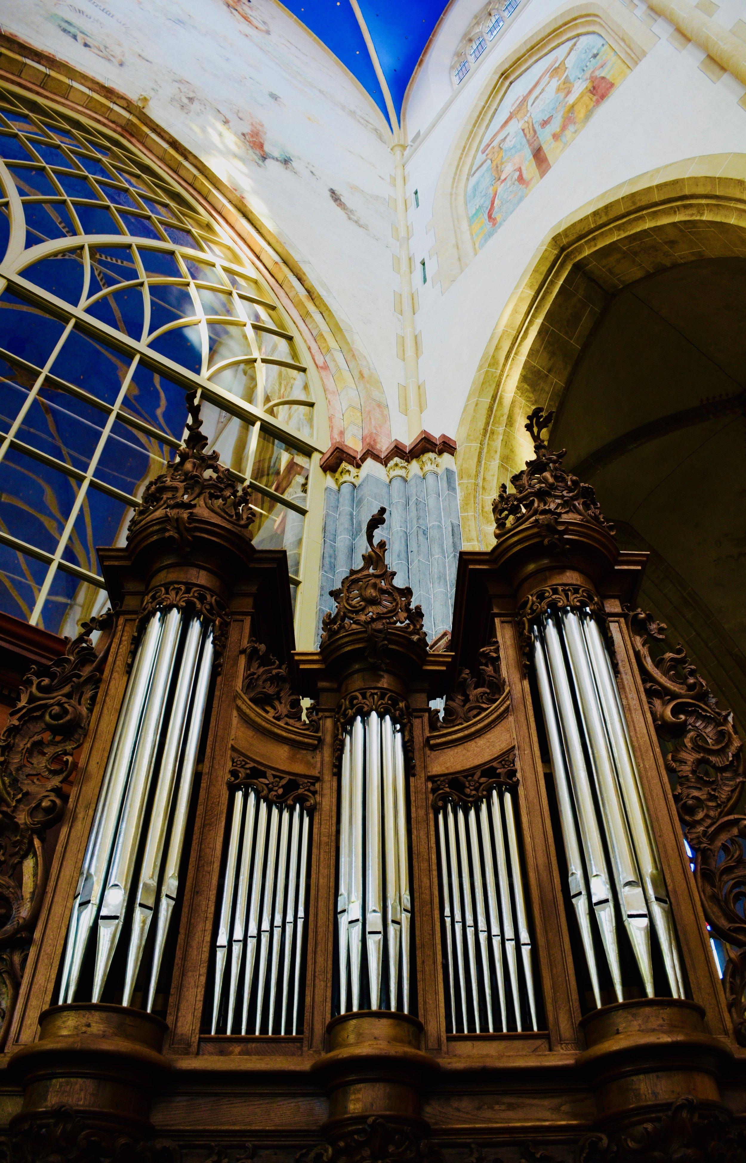 1742 Le Picard French baroque organ, Martinikerk, Groningen.