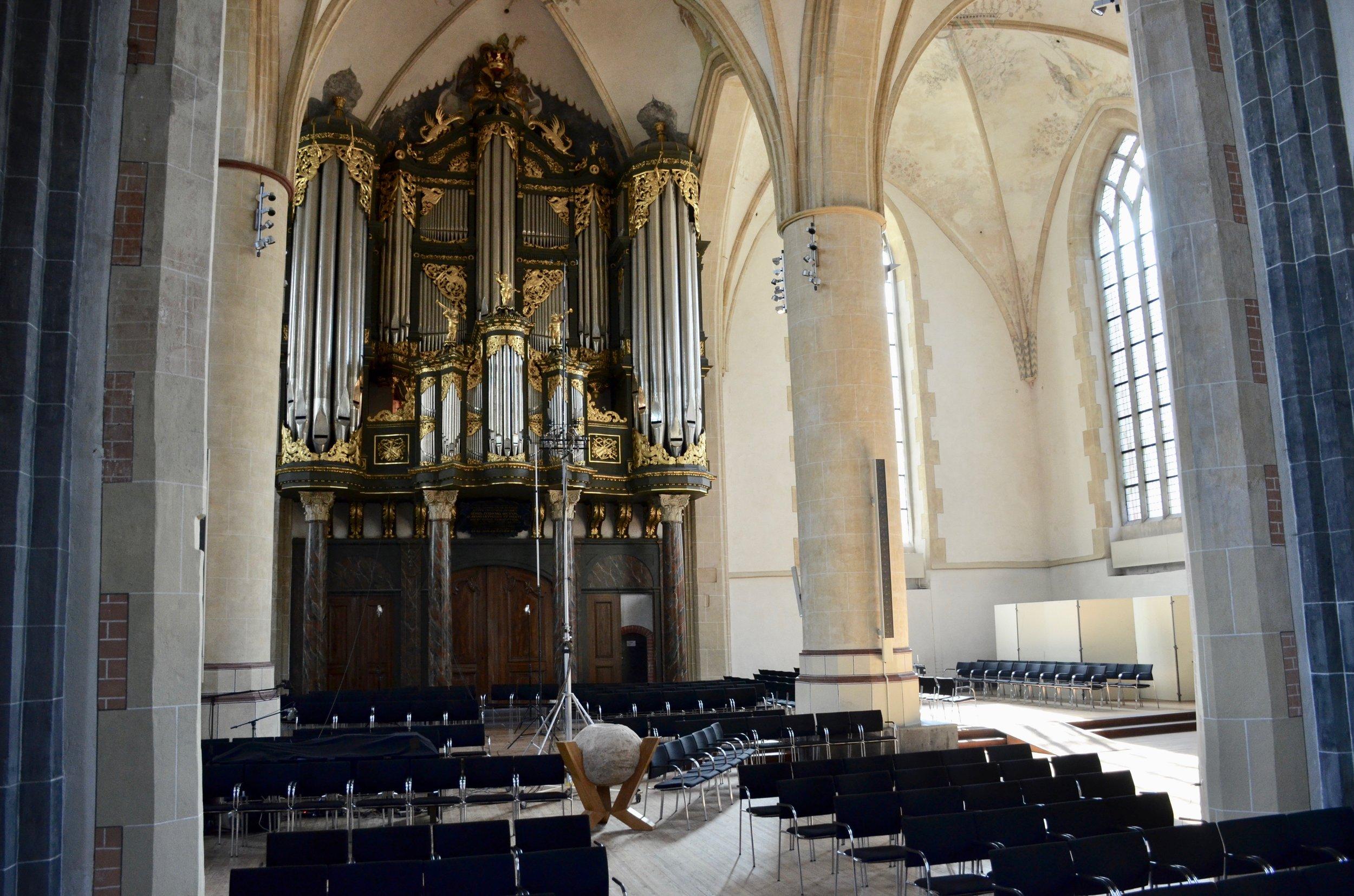 1692 Arp Schnitger pipe organ, Martinikerk, Groningen.
