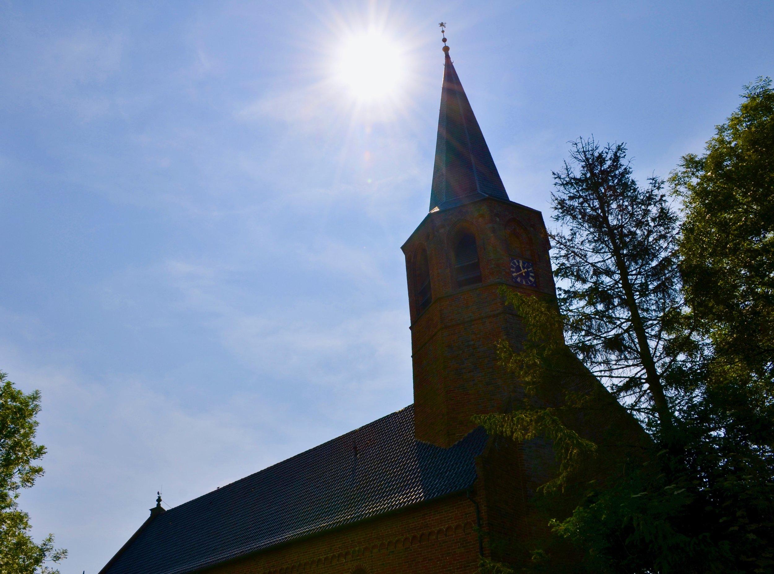 The church in Zeerijp, Holland.