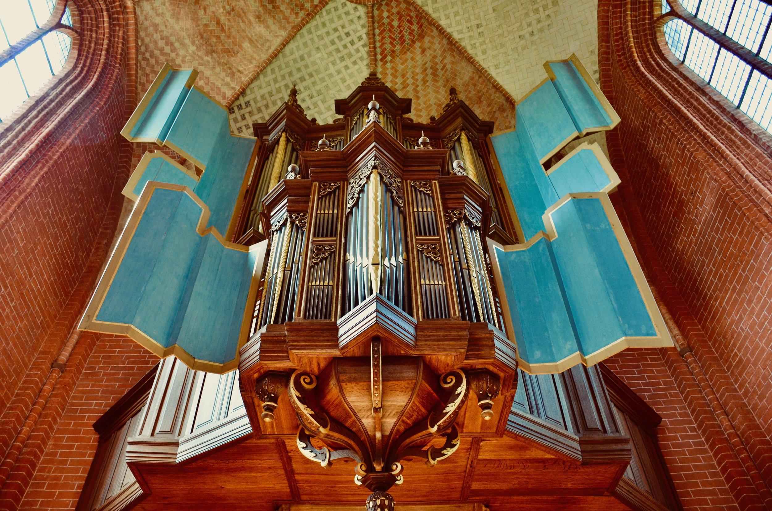 The 1651 Faber organ, Zeerijp, Netherlands.