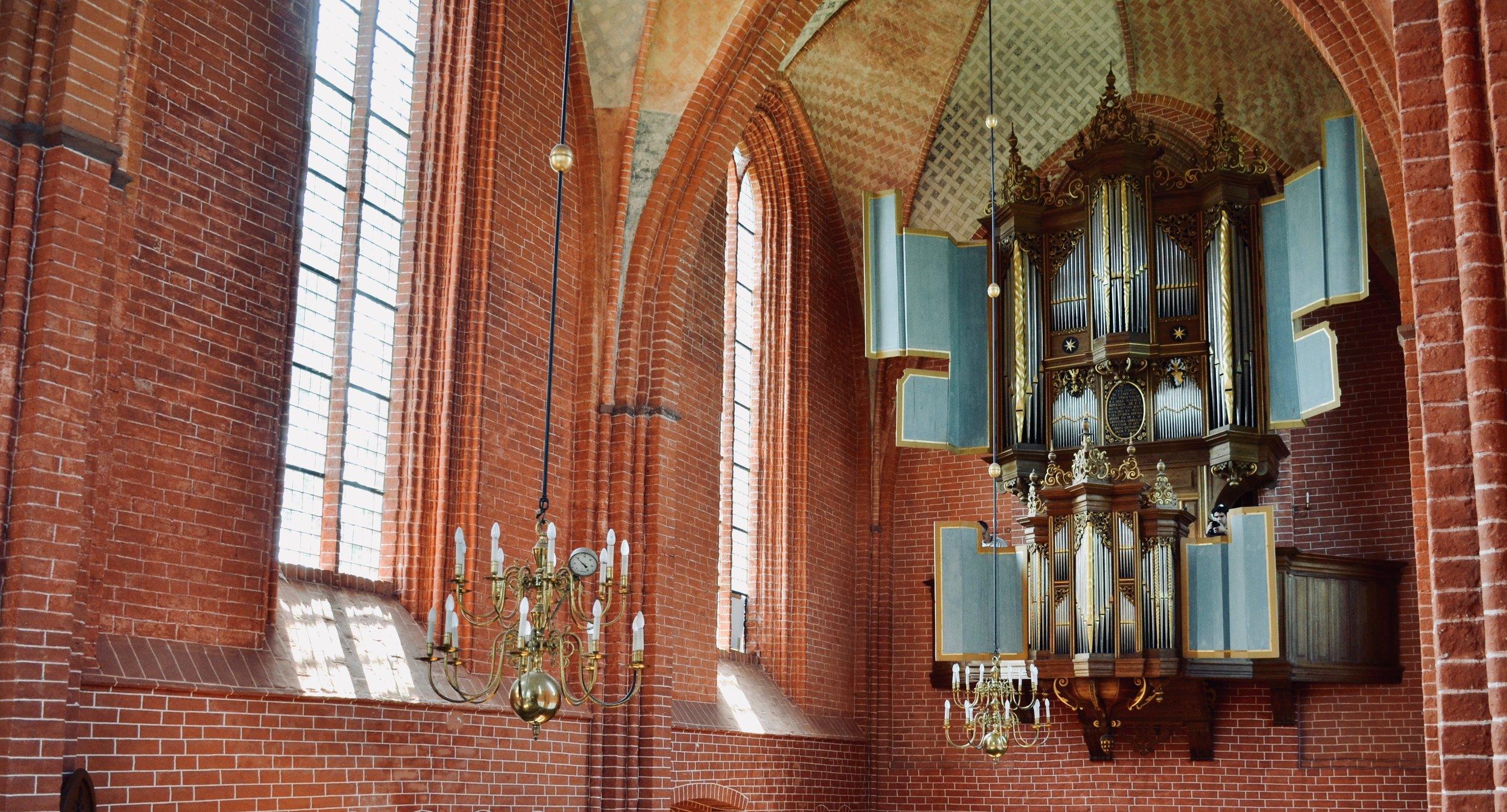 The 1651 Faber organ in Zeerijp, Holland.