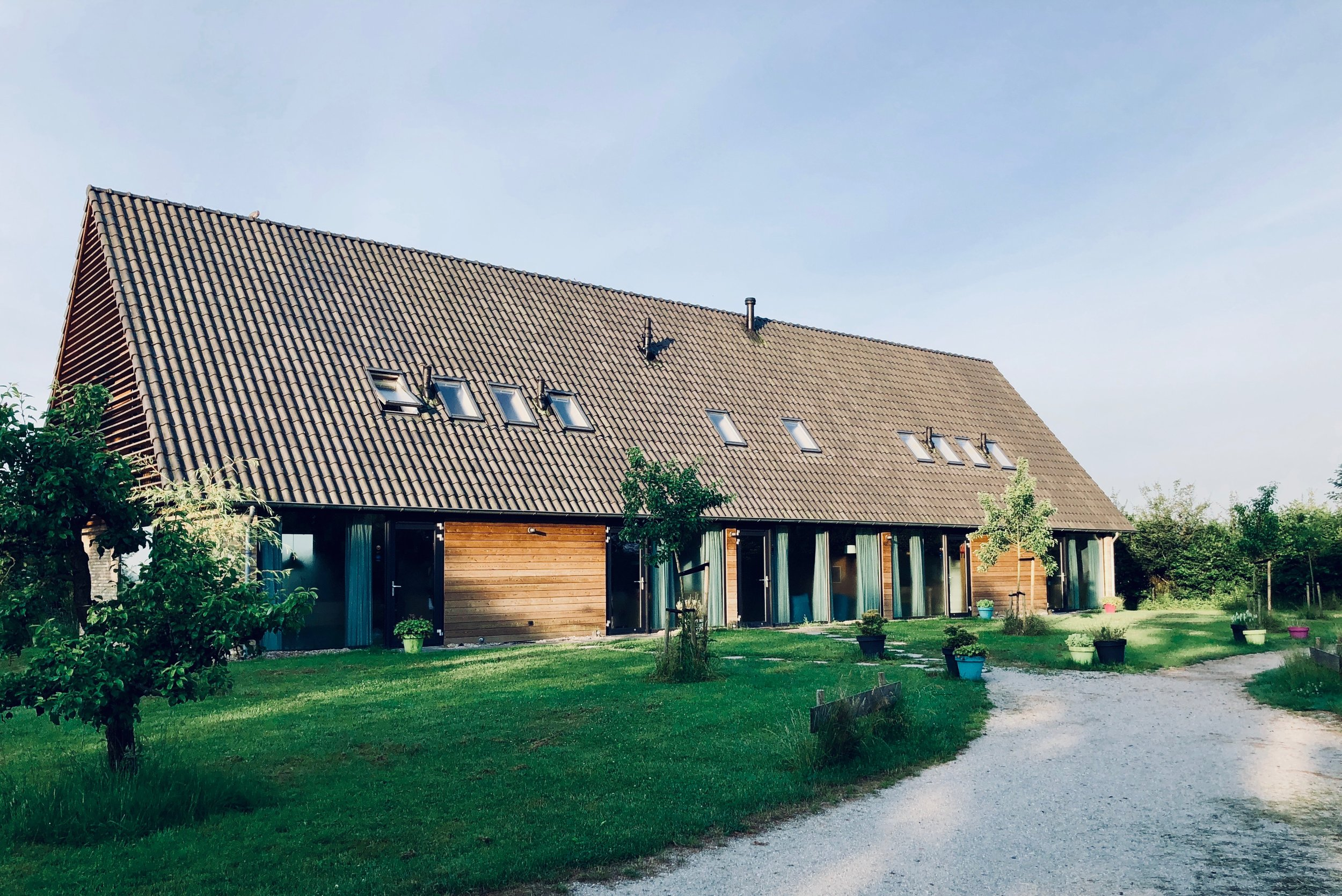 Goodbye to our Airbnb in Holland!