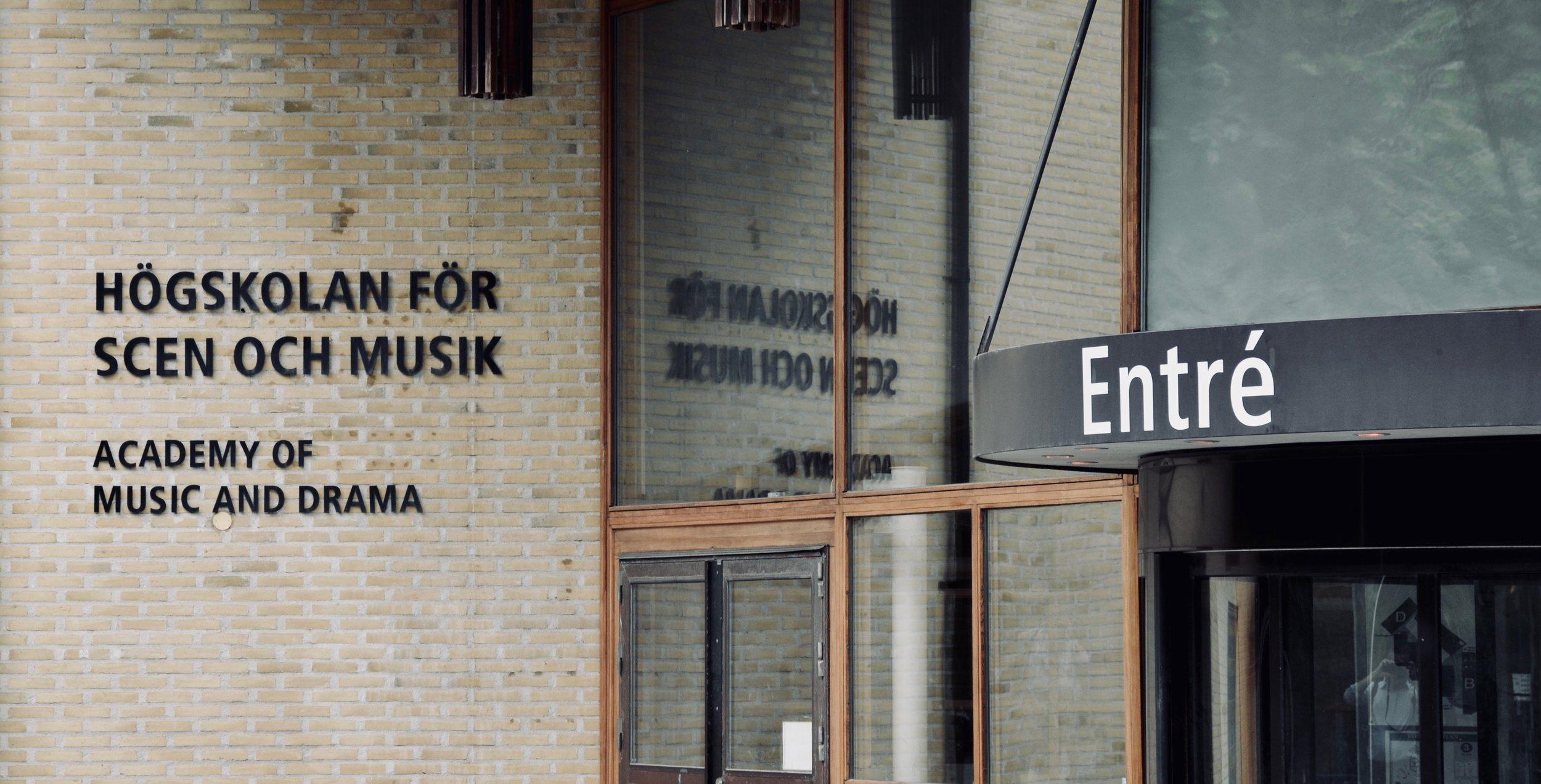 """The School of Music, Göteborg University, """"Artisten"""""""
