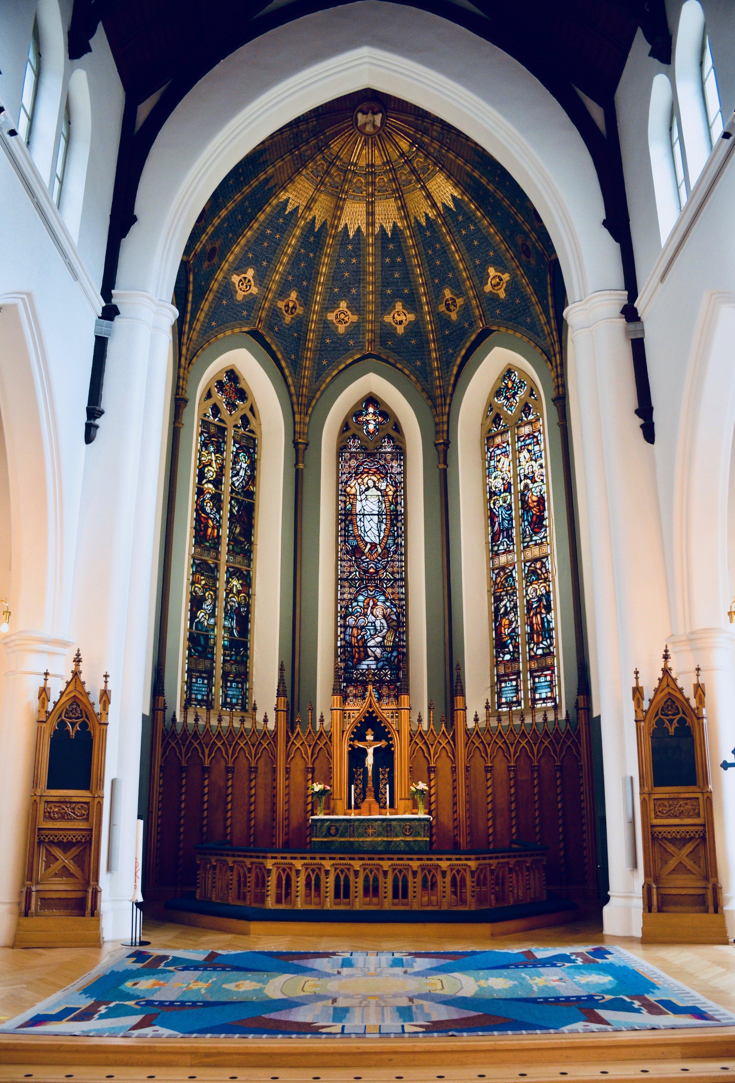 Haga Church, Göteborg, Sweden.