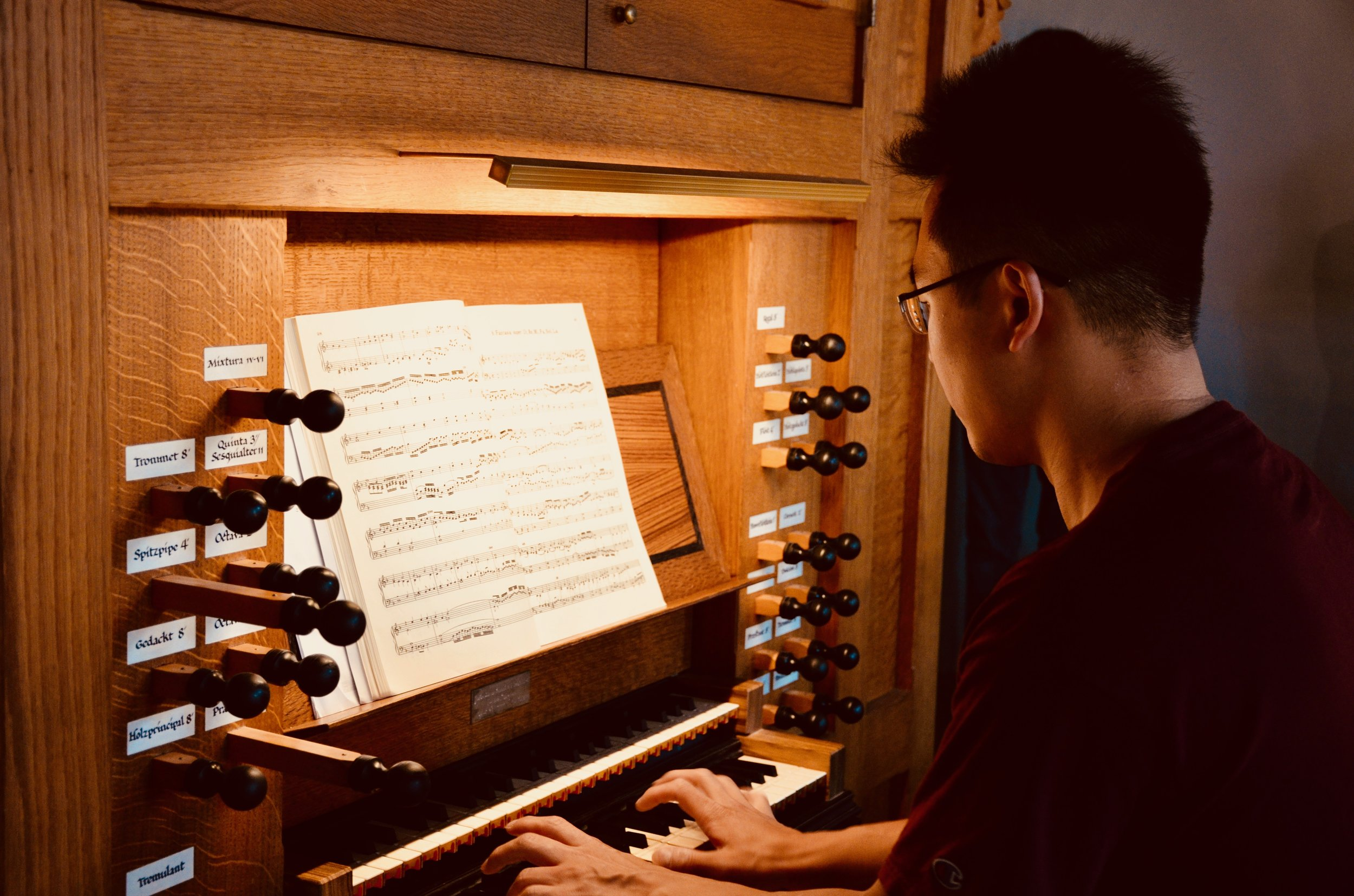 Adrian Cho plays the 1992 Brombaugh organ, Haga Church, Göteborg, Sweden.